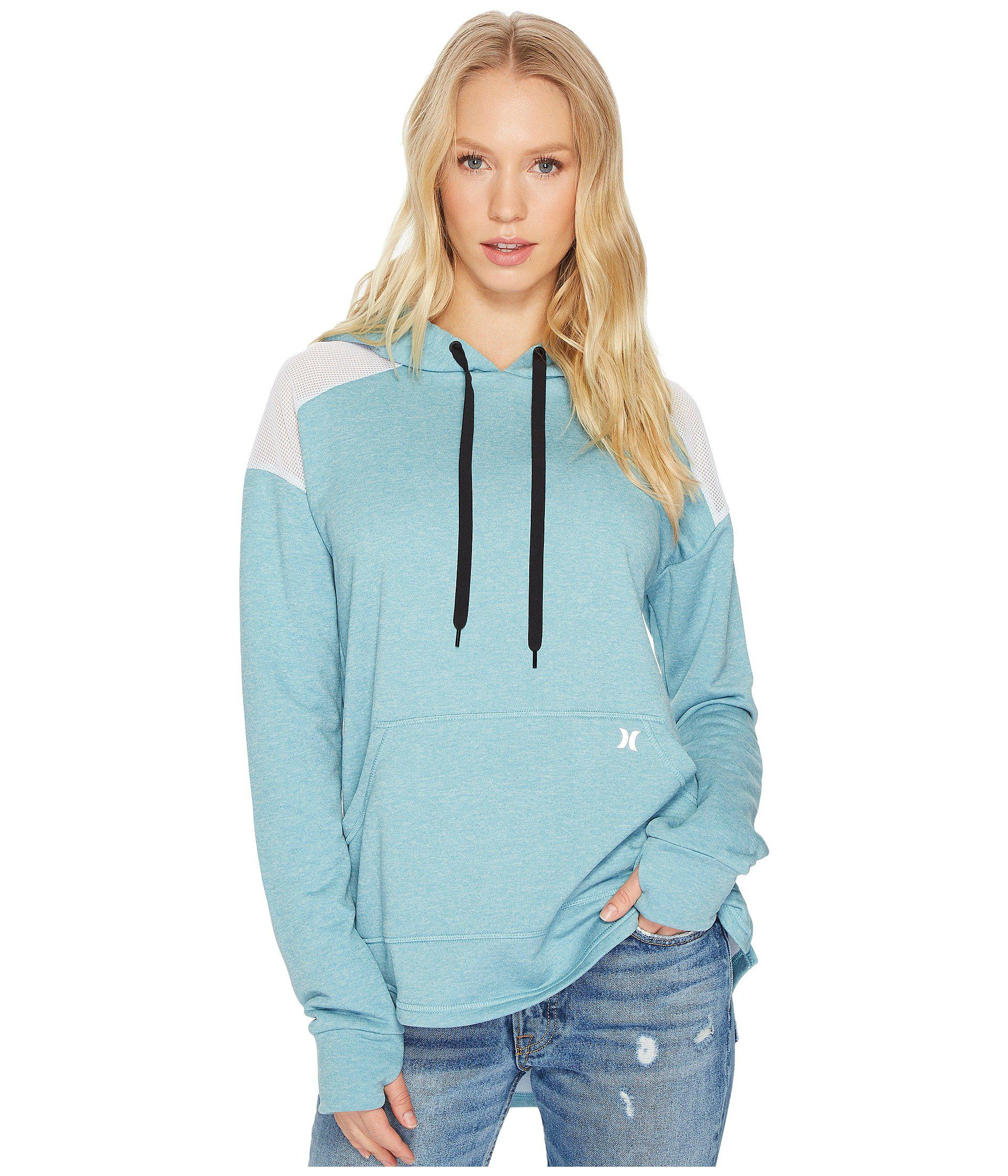 763865631766 Lyst - Hurley Dri-fit United Fleece Pull In in Blue