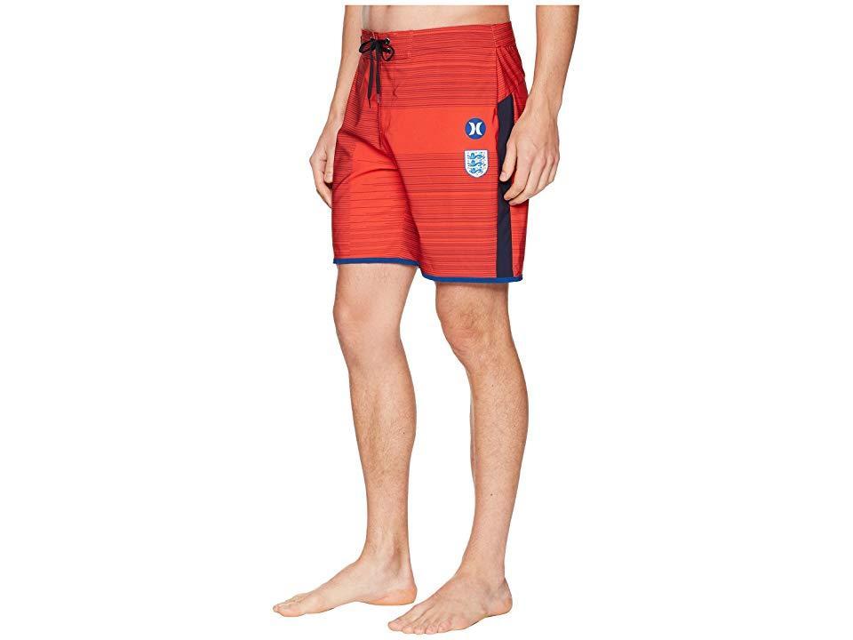 938bbe487c Hurley - Phantom England National Team Boardshorts (challenge Red) Swimwear  for Men - Lyst. View fullscreen