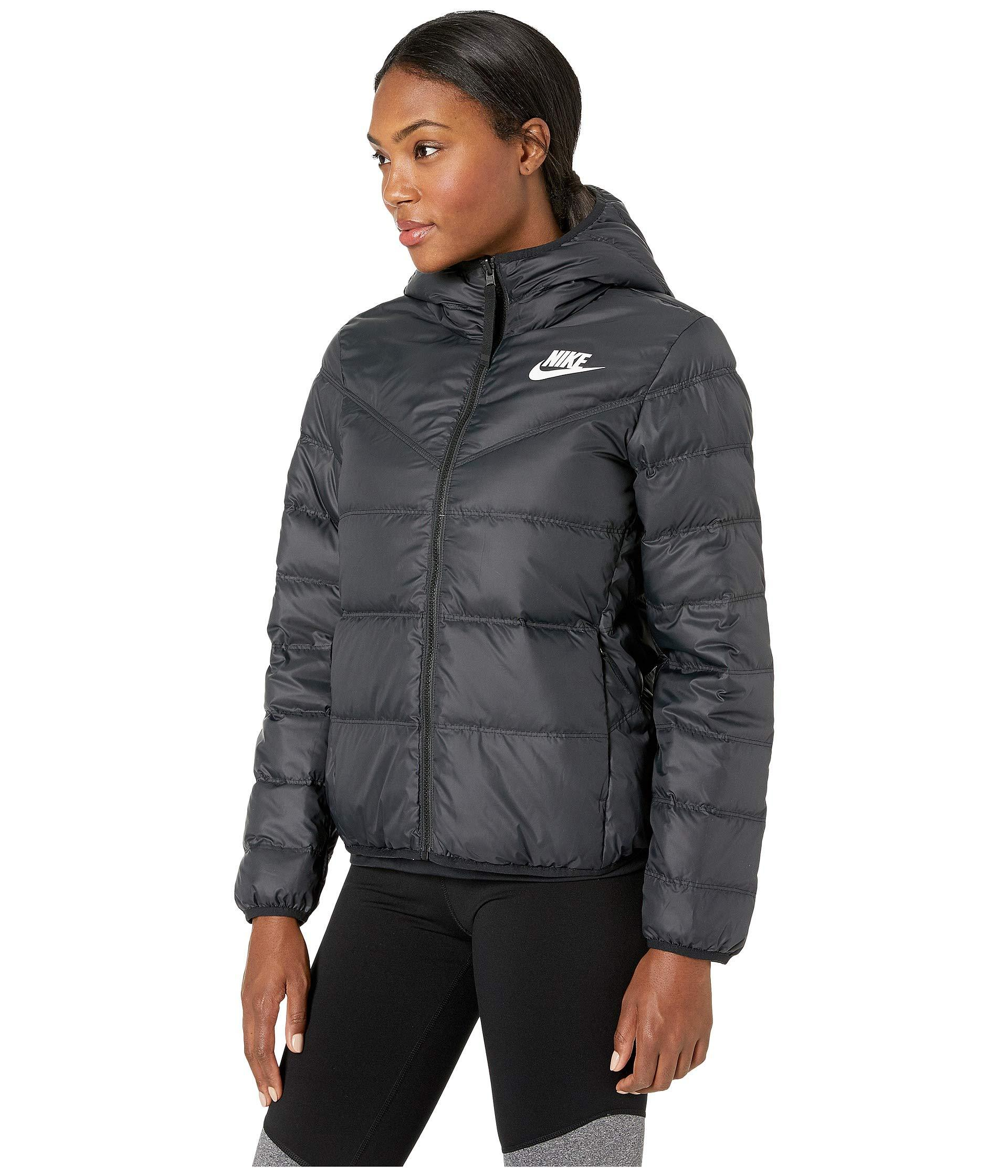 692dcacb2bfb Lyst - Nike Sportswear Windrunner Down Fill Jacket Reversible in Black -  Save 31%