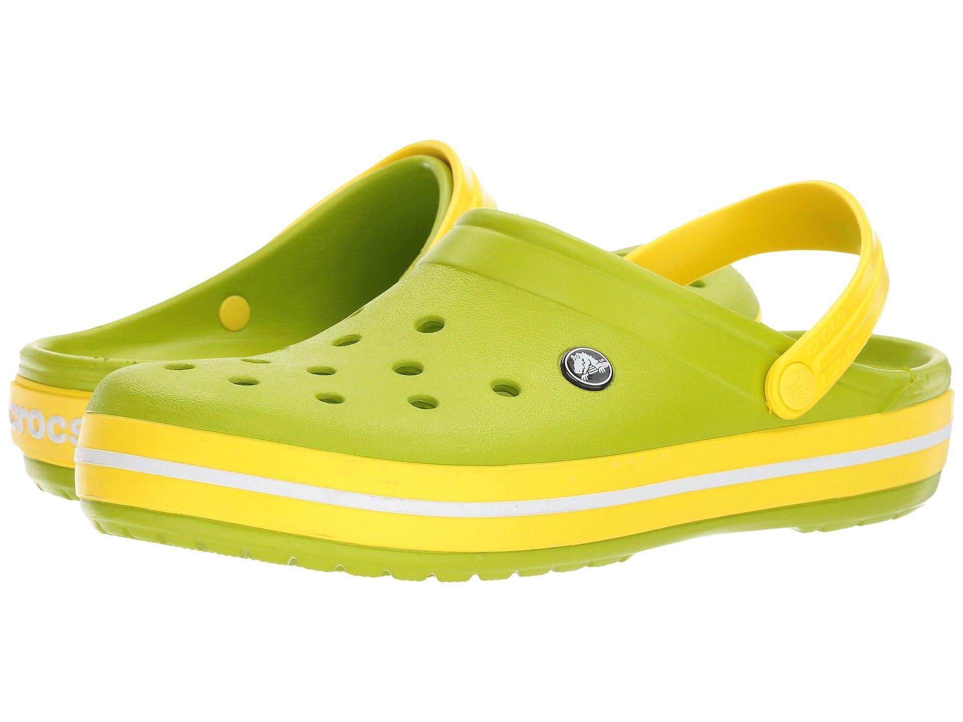 1ceffe43b30028 Lyst - Crocs™ Crocband Clog in Yellow