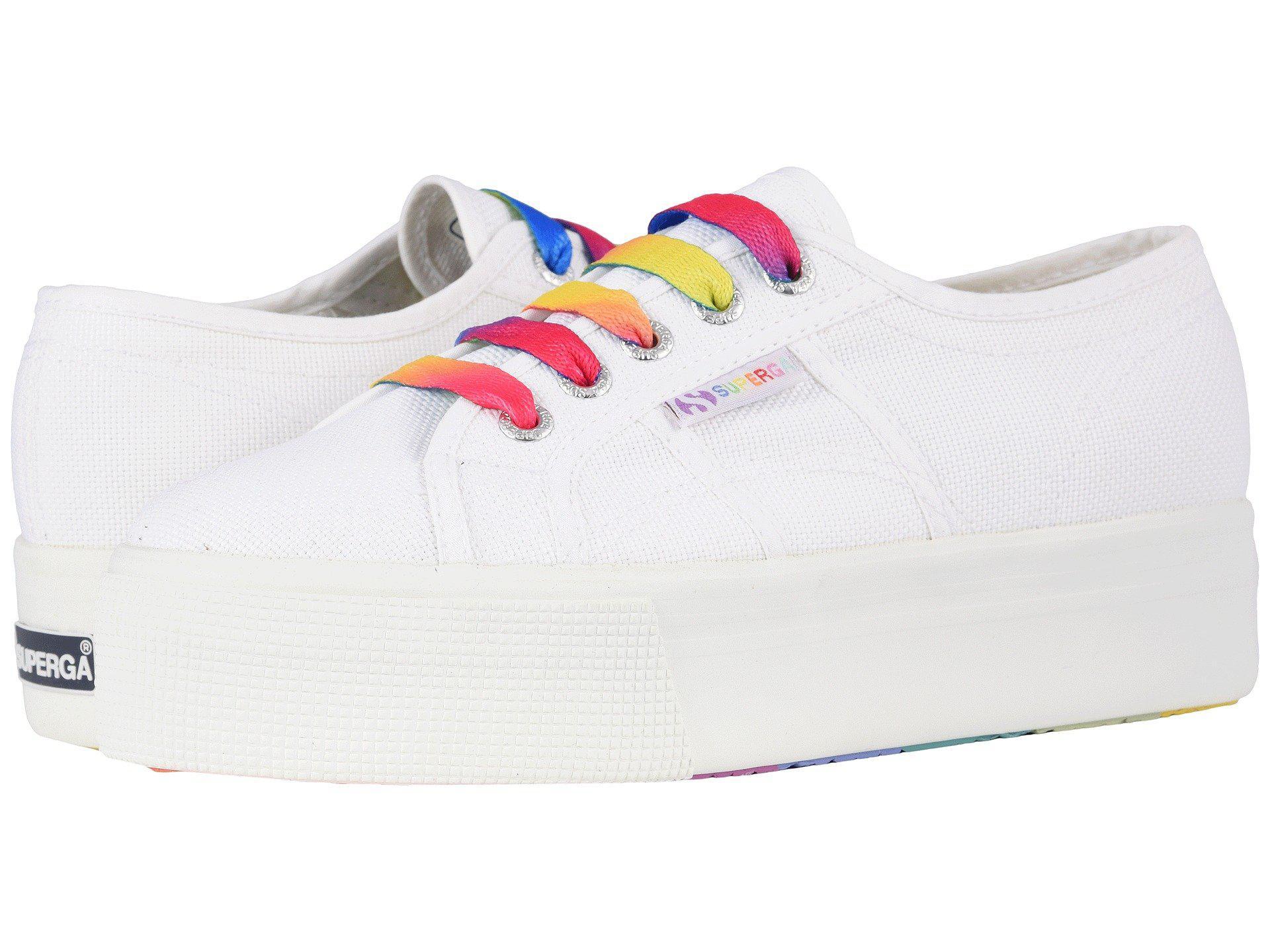 Superga 2790 COTW Multicolor Outsole Platform Sneaker Kl2mbEV