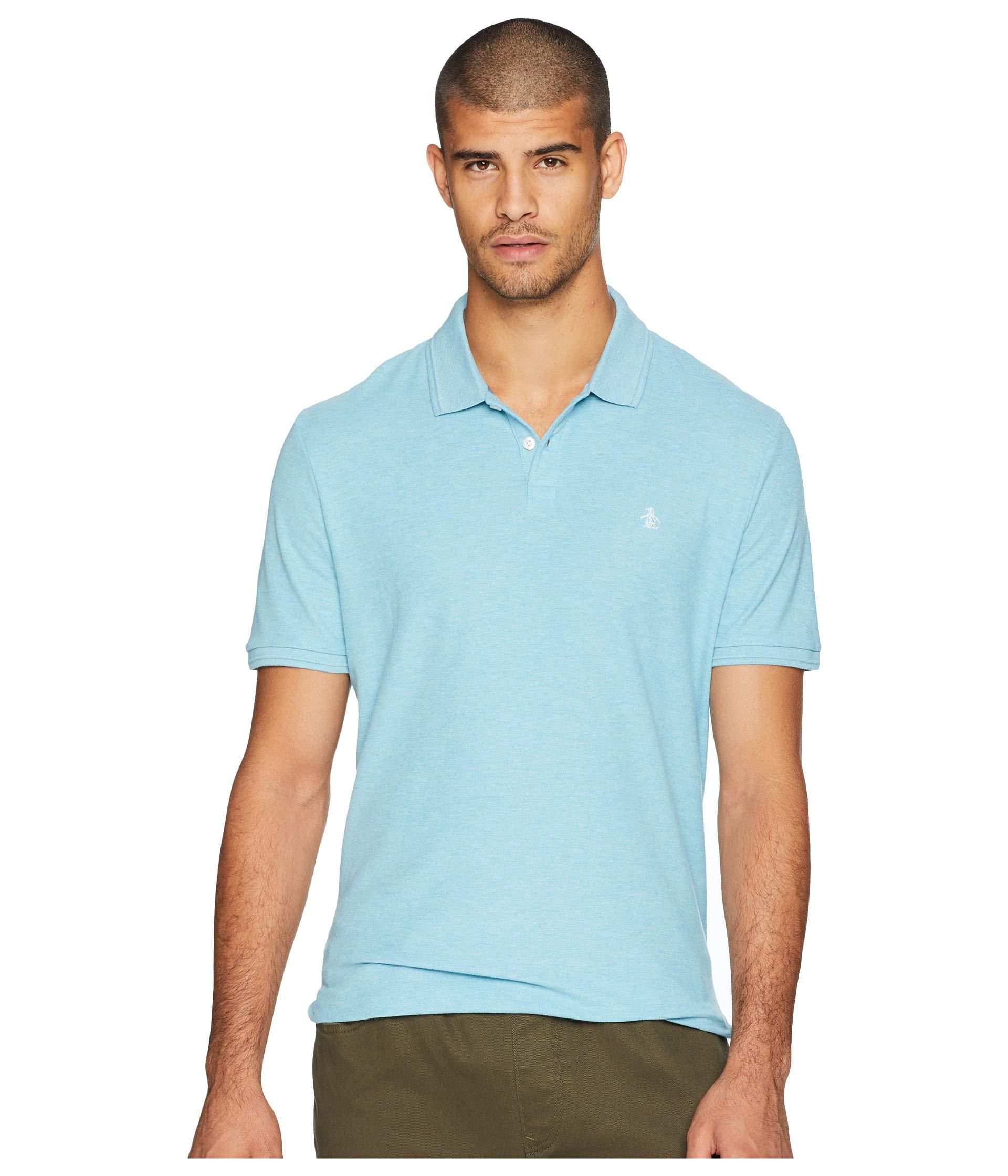 7c85300c29b Lyst - Original Penguin Daddy-o Polo 2.0 Classic Fit in Blue for Men ...