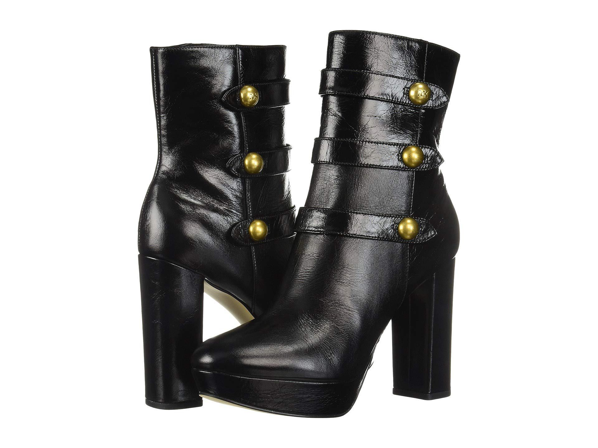 91fcbc9e5f00 Lyst - Michael Michael Kors Maisie Ankle Boot in Black