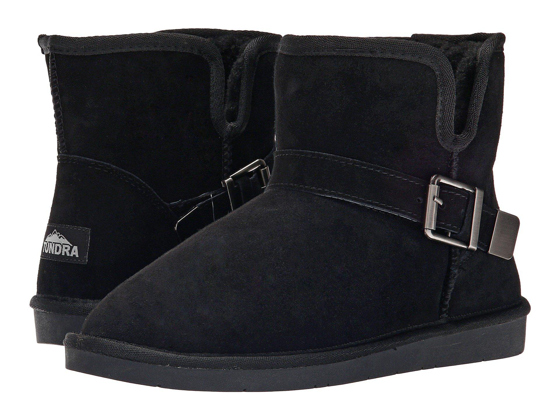 ee442c68c5036 Lyst - Tundra Boots Belmont in Black