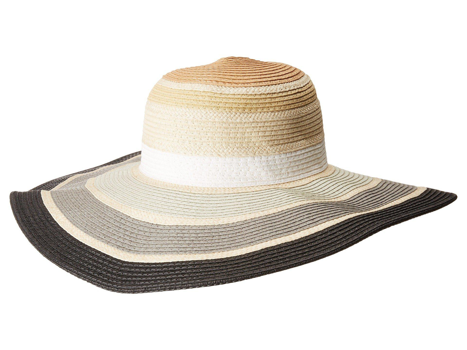 f47702dd188 ... Lyst - Bcbgeneration Rainbow Floppy Hat in Natural to buy a8f75 05090  ...