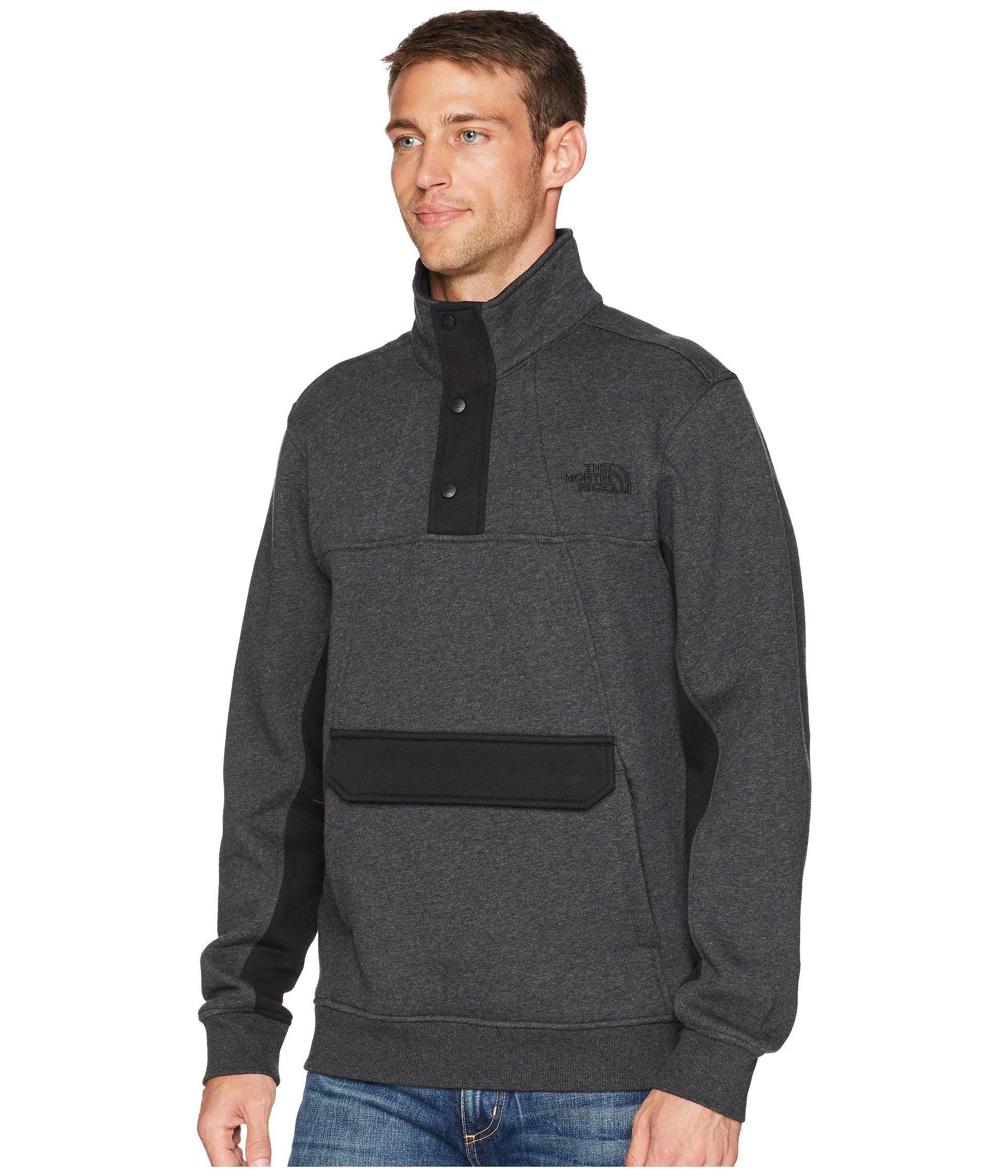 5e9dde47a9a3 Lyst - The North Face Alphabet City Fleece Pullover in Gray for Men - Save  50%