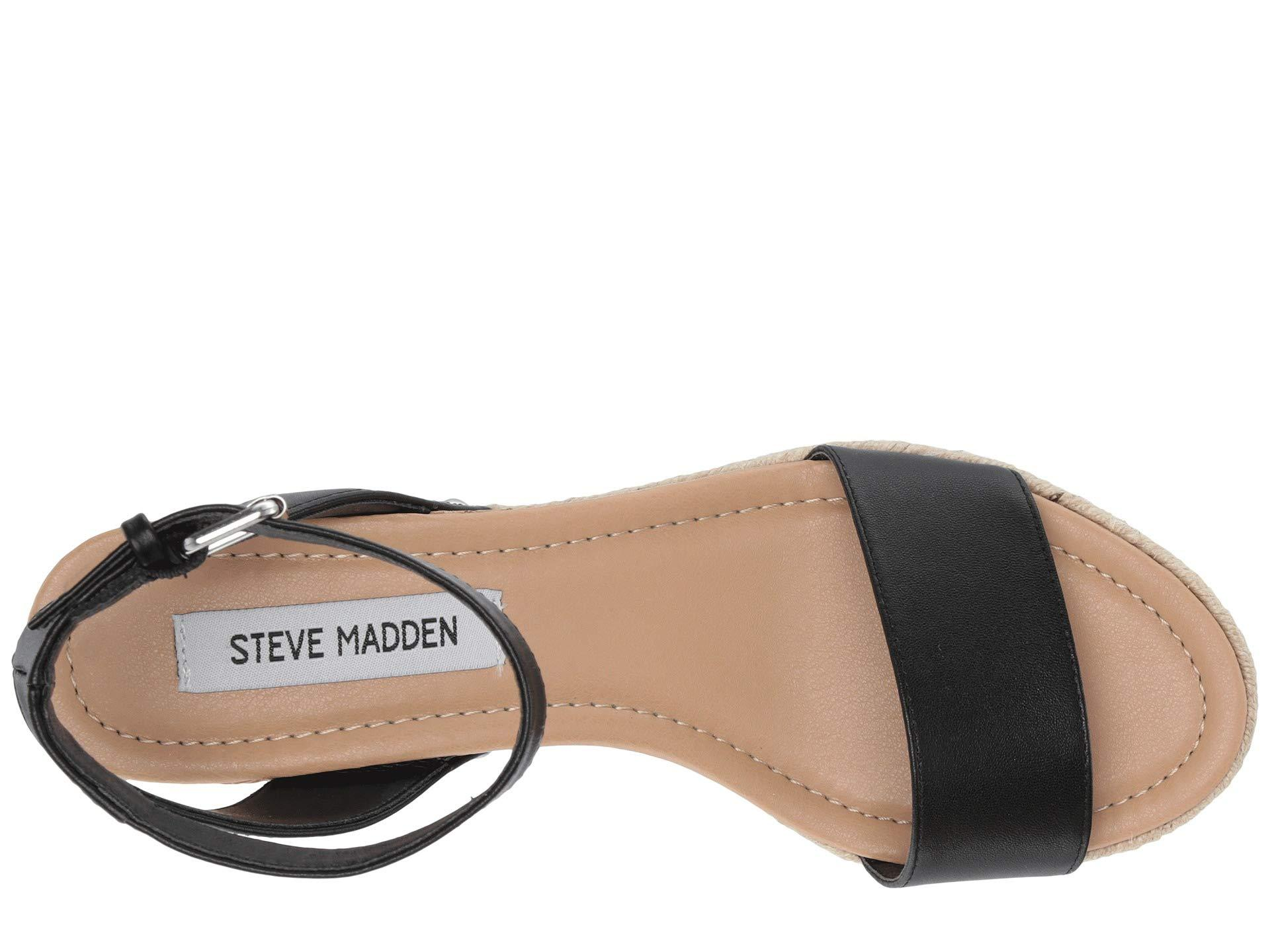 b27729796ce Steve Madden - Jaide (black Leather) Shoes - Lyst