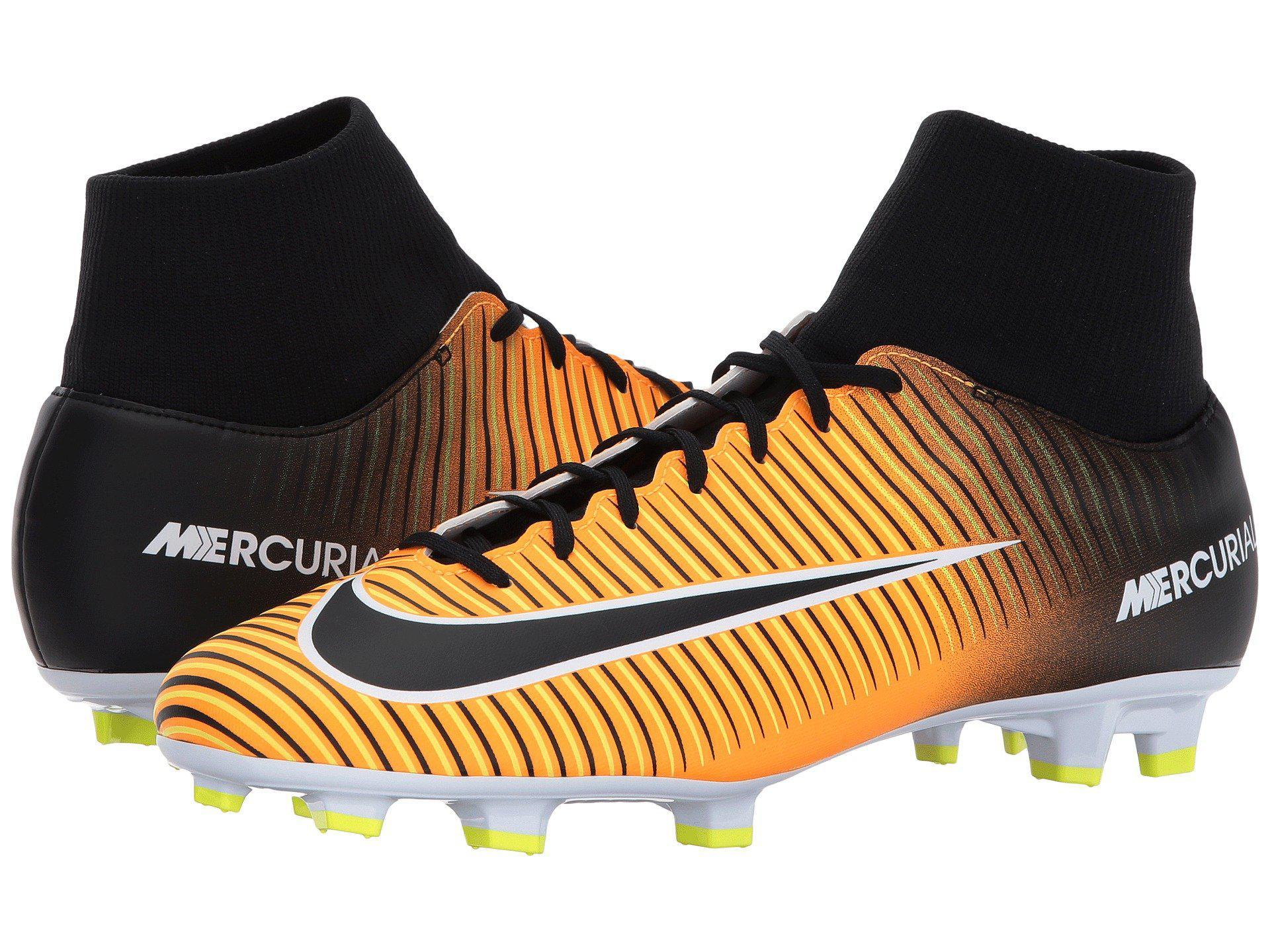 d0c167f2645db Lyst - Nike Mercurial Victory Vi Dynamic Fit Fg in Orange for Men