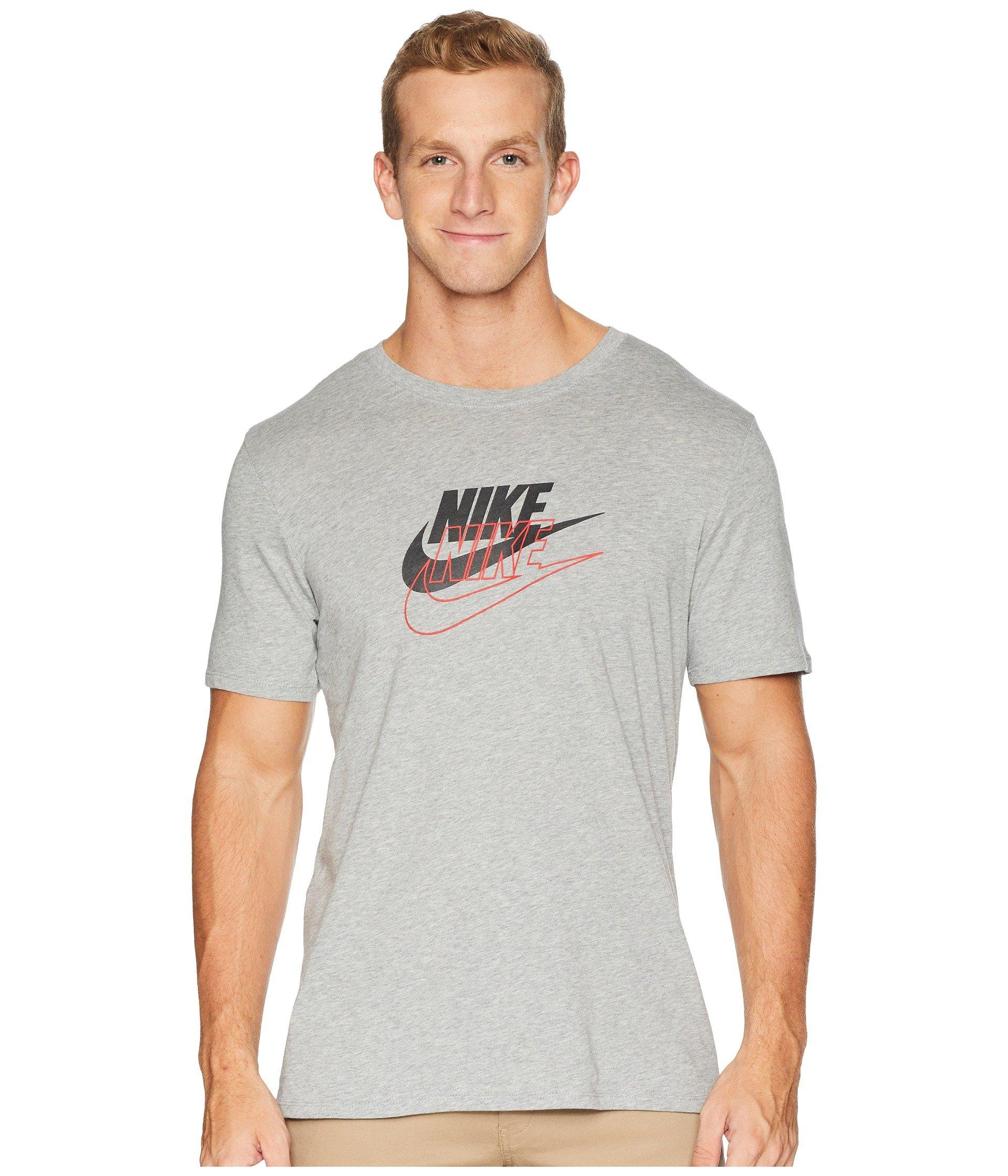3e590733 Lyst - Nike Archive 3 Tee in Gray for Men - Save 21.05263157894737%
