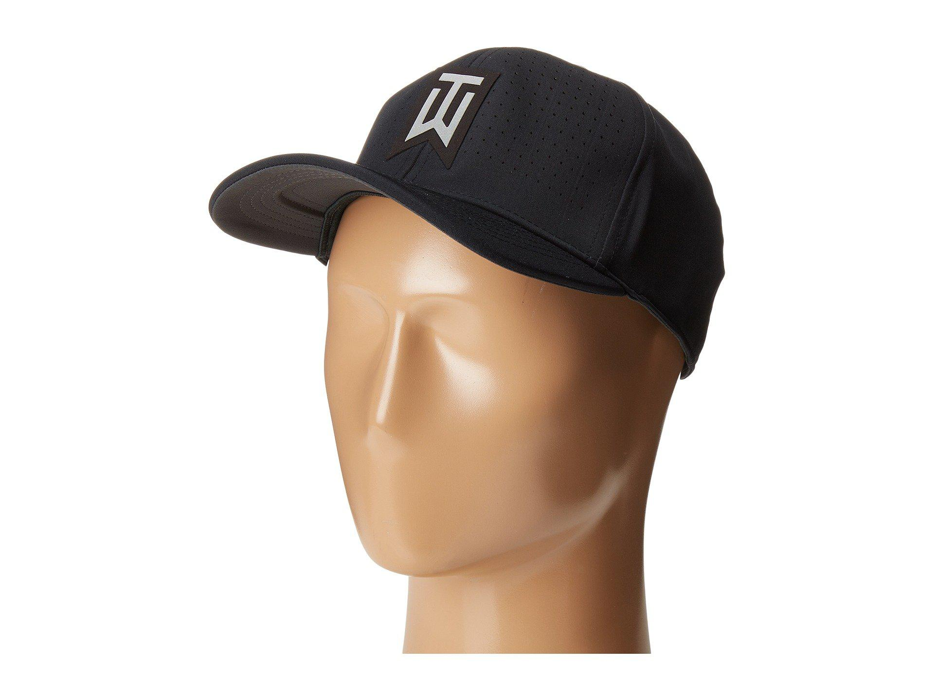 Lyst - Nike Tiger Woods Classic99 Statement Cap in Black for Men 826cb15bccd