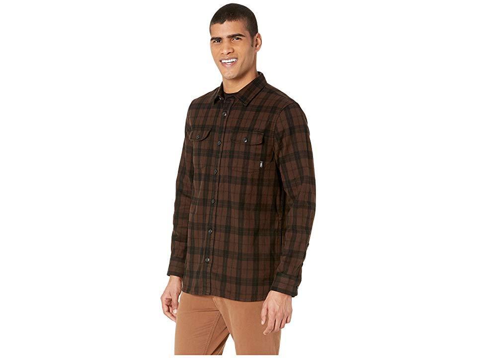 a47ba514 Vans Blackstone Flannel (demitasse/black) Clothing in Brown for Men ...