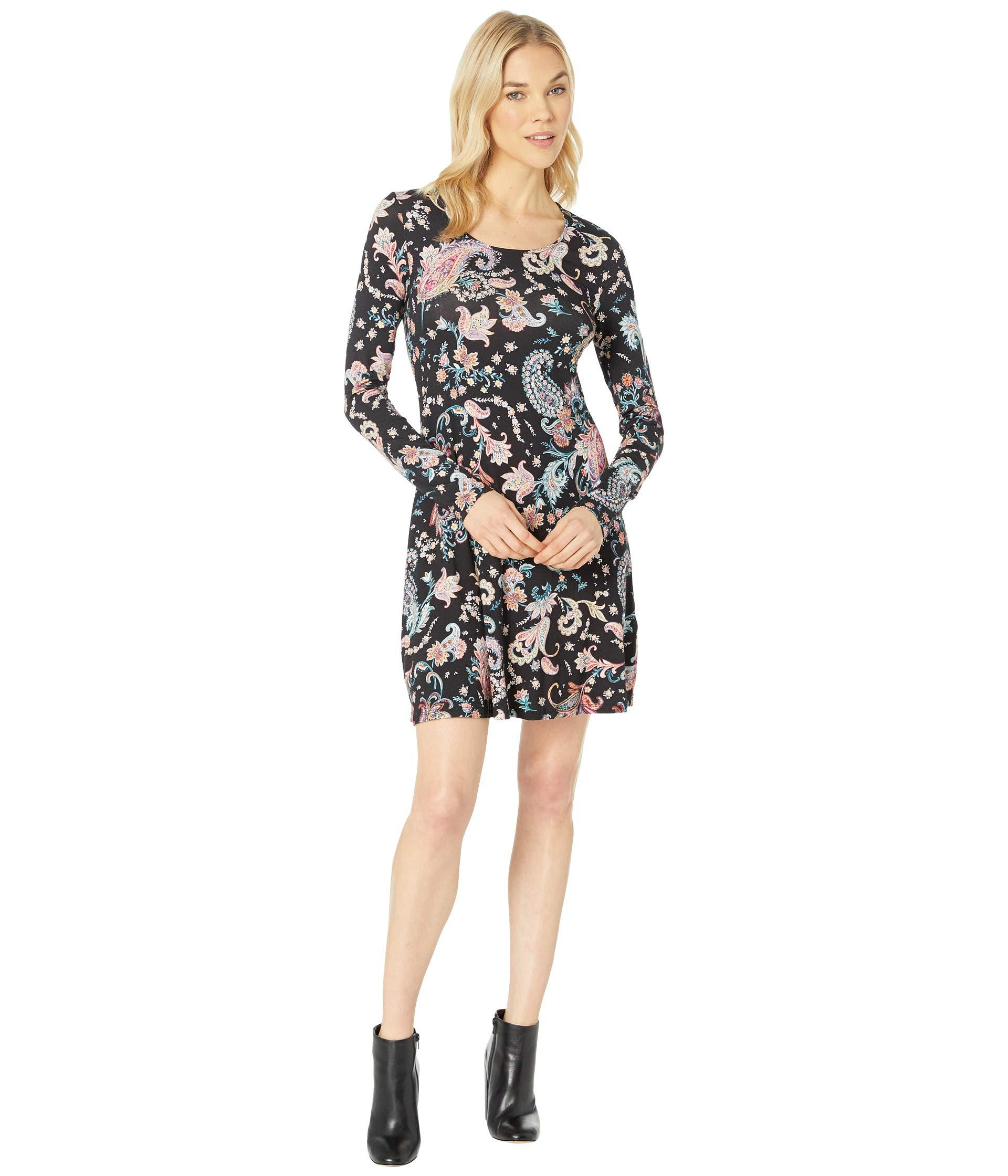 afc126a99c Lyst - Karen Kane Erin A-line Dress in Black - Save 8%