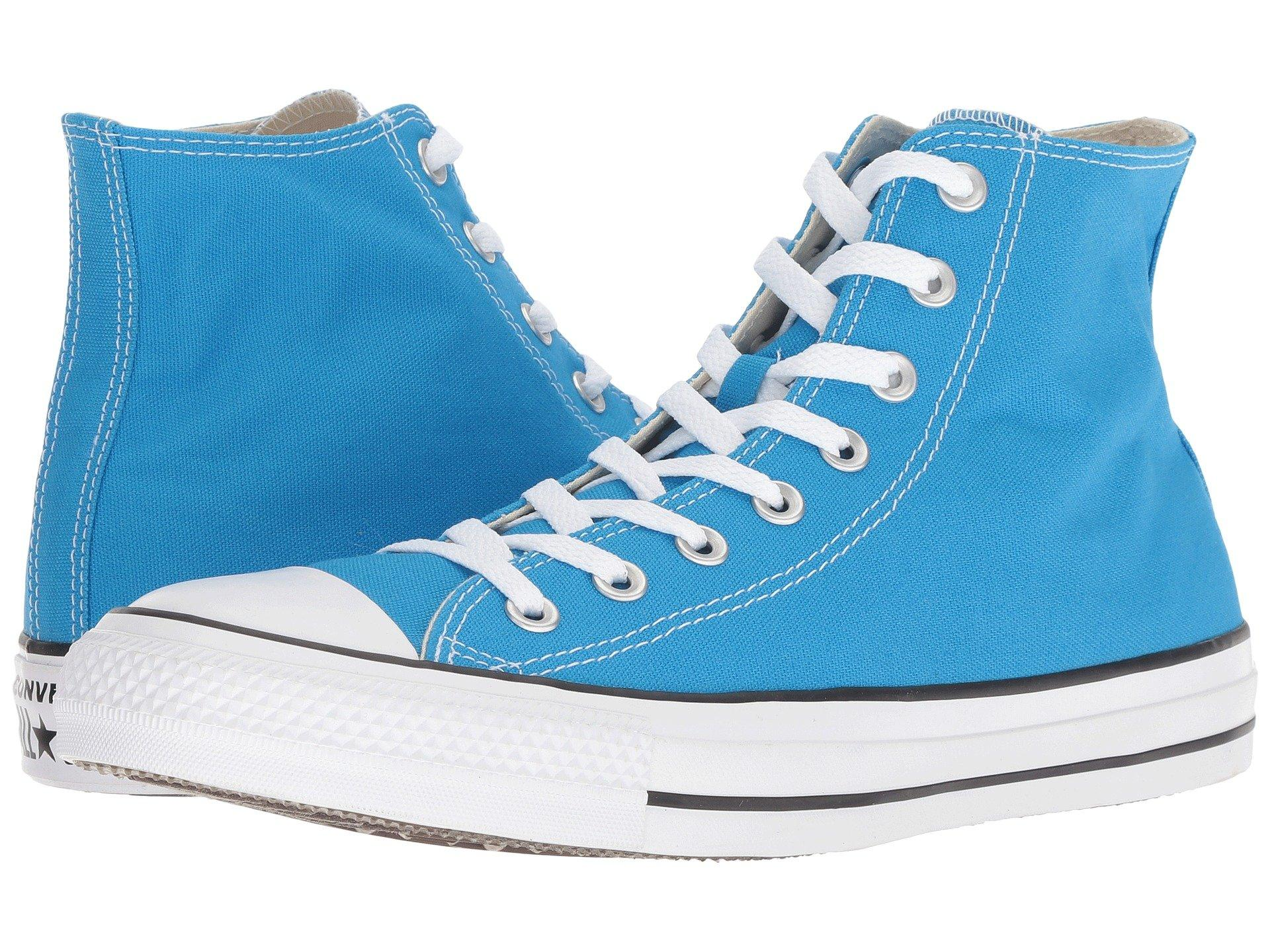 1150fae91be8 Lyst - Converse Chuck Taylor® All Star® Seasonal Color Hi in Blue