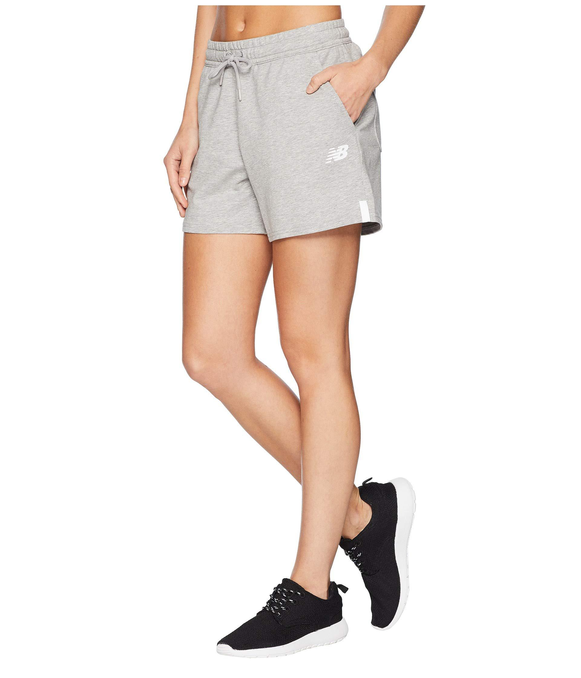 753a4af18875d Lyst - New Balance Nb Athletic Knit Shorts in Gray