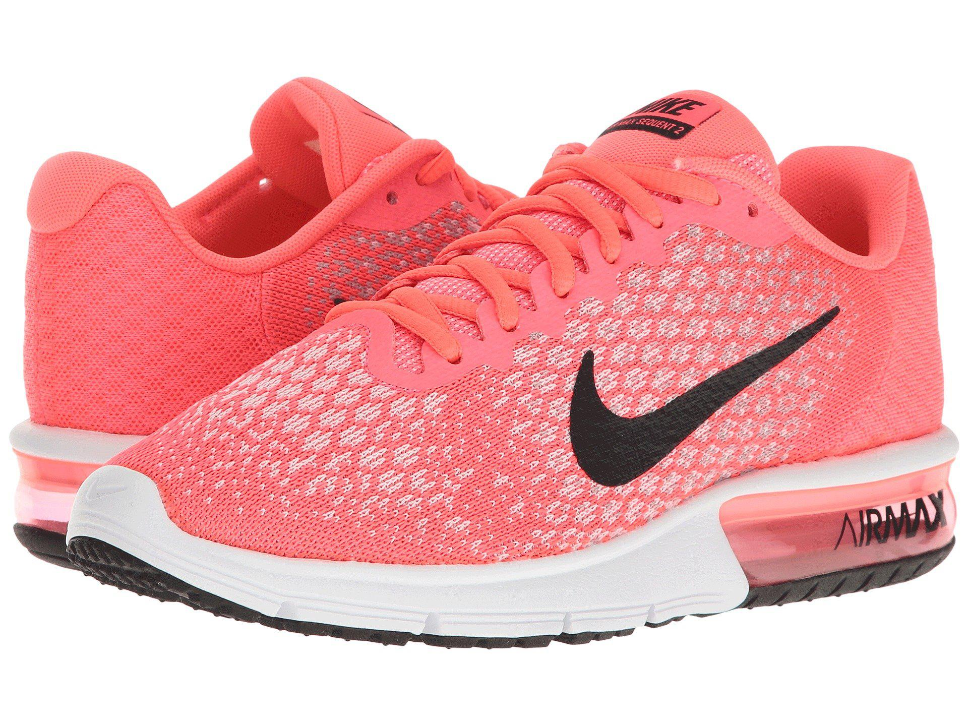 bc6ef3967f Nike Air Max Sequent 2 in Pink - Lyst