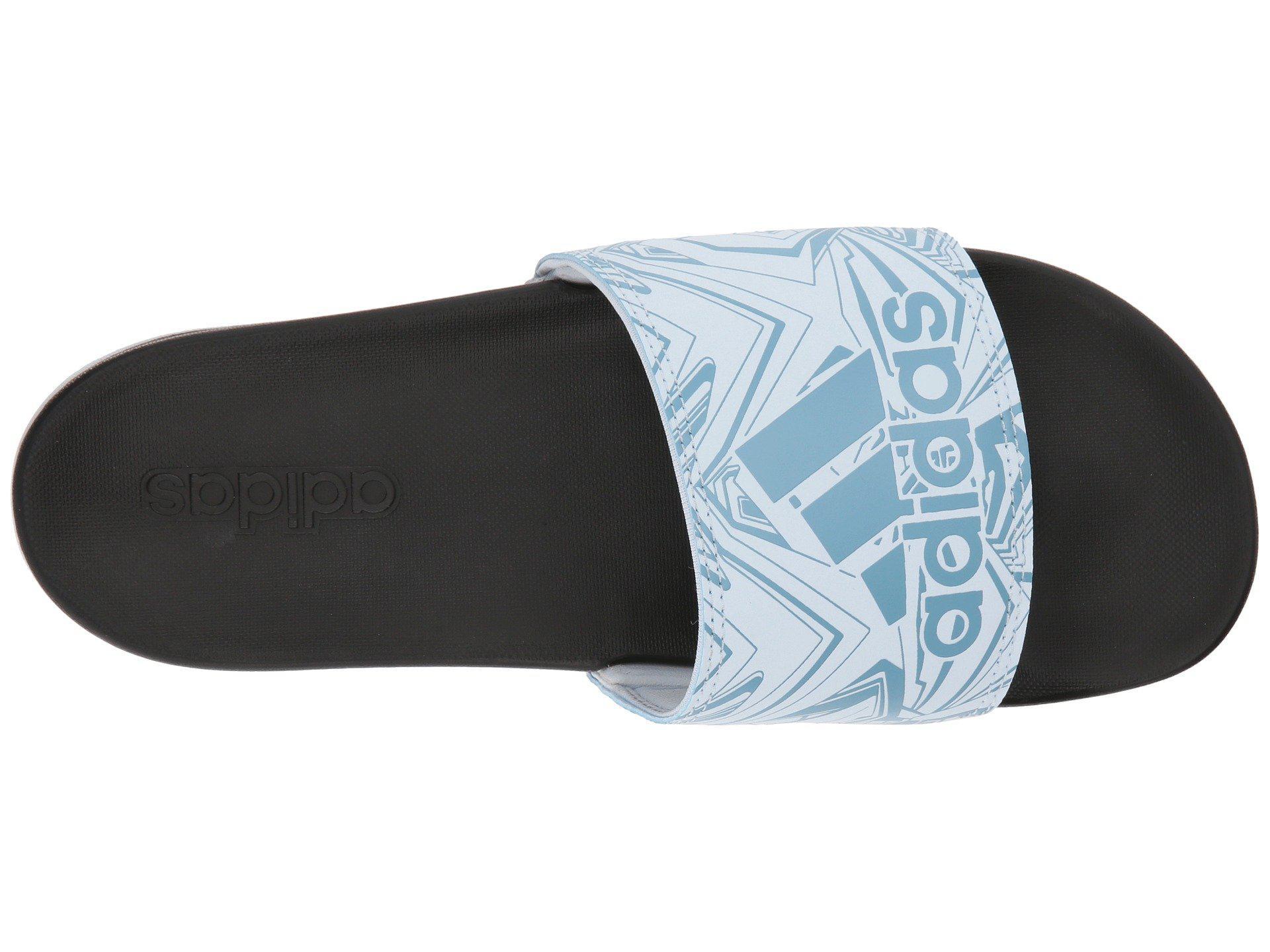 official photos 8c76c 38c67 View fullscreen  separation shoes 9dc98 680df Adidas - Blue Adilette Cf+ Gr  - Lyst. View fullscreen