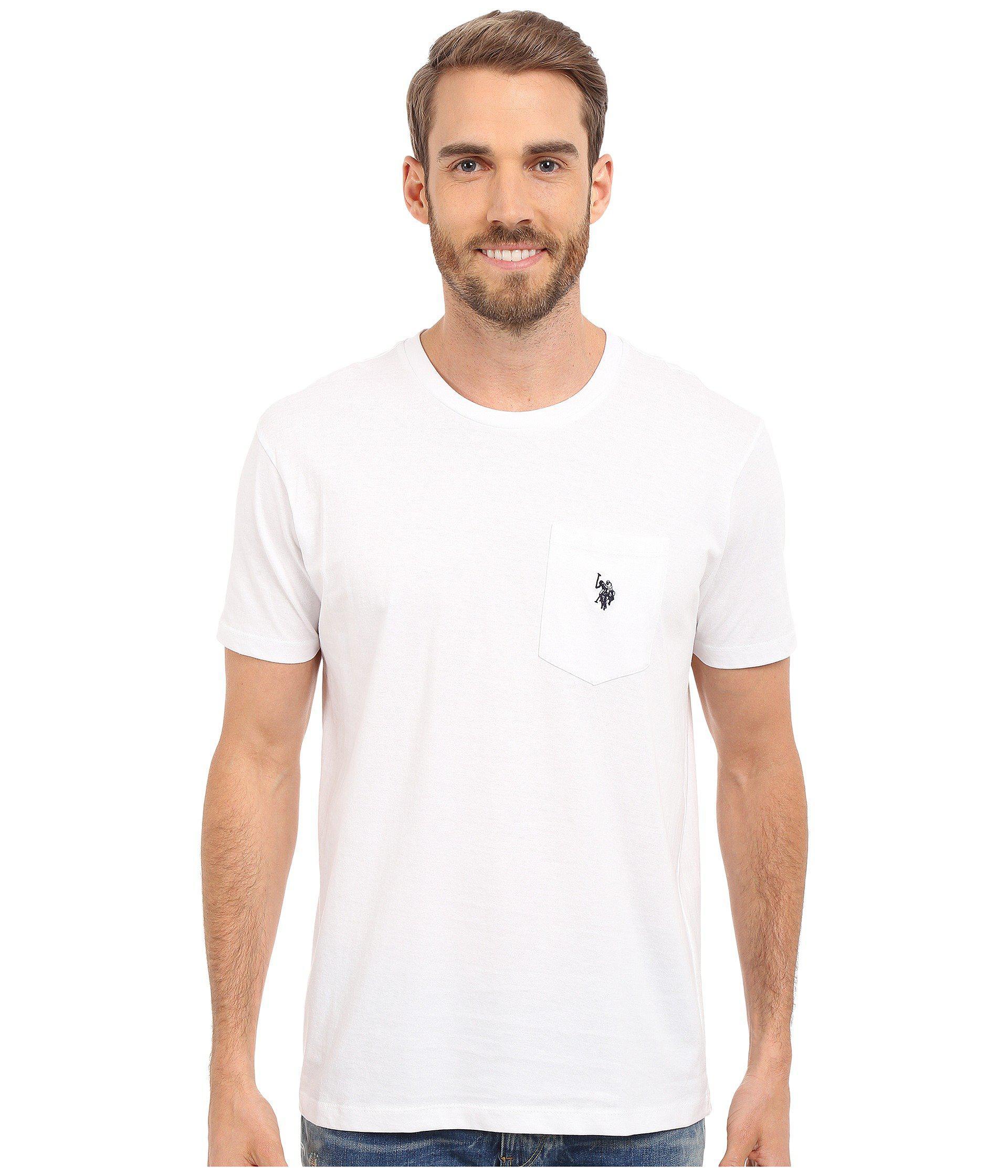 U S Polo Assn White T Shirt