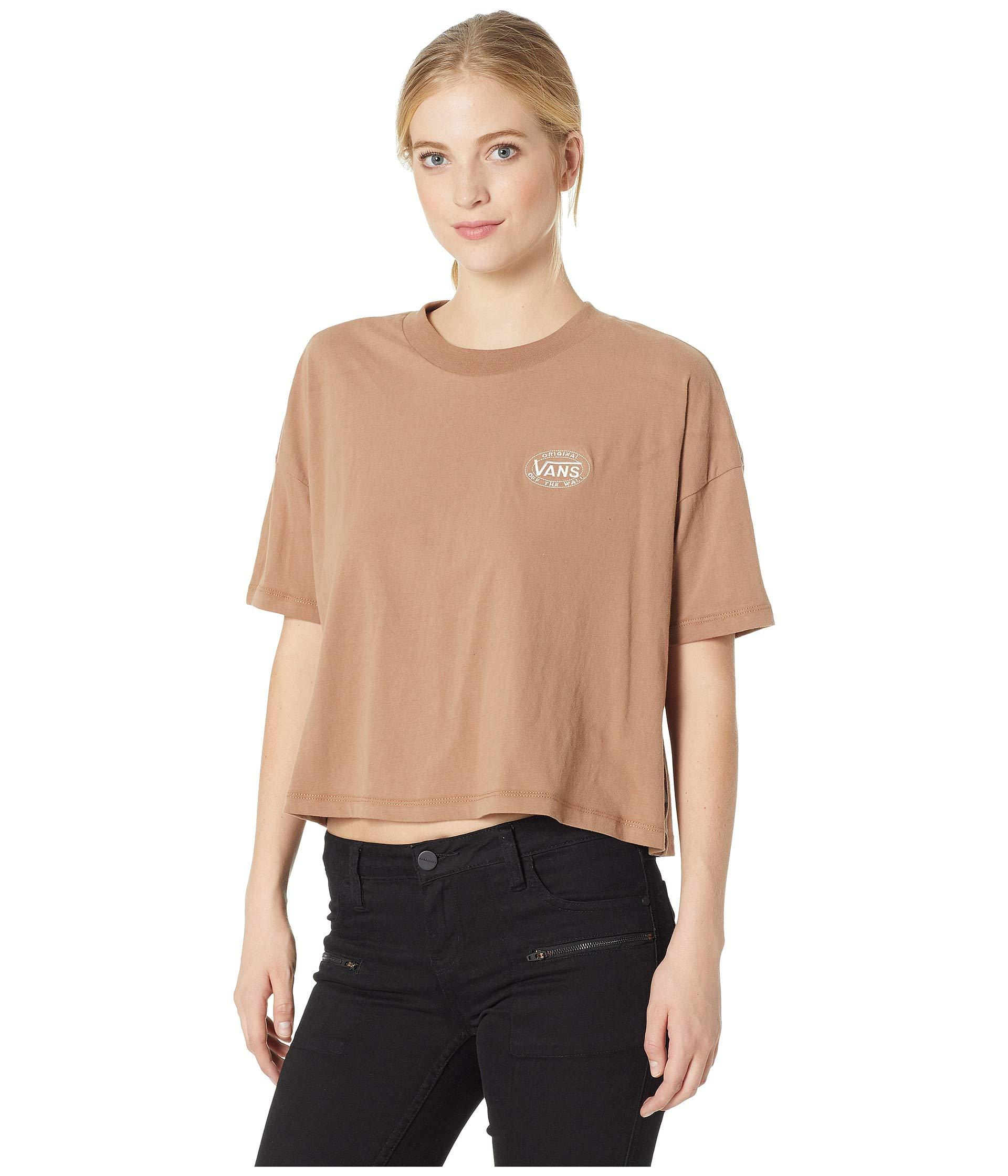 d3e707b9adb Lyst - Vans Junction Top in Natural - Save 37%