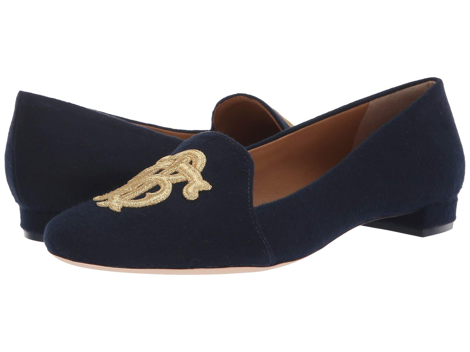89d8fdd5a766 Lyst - Tory Burch Antonia Loafer in Blue - Save 51%