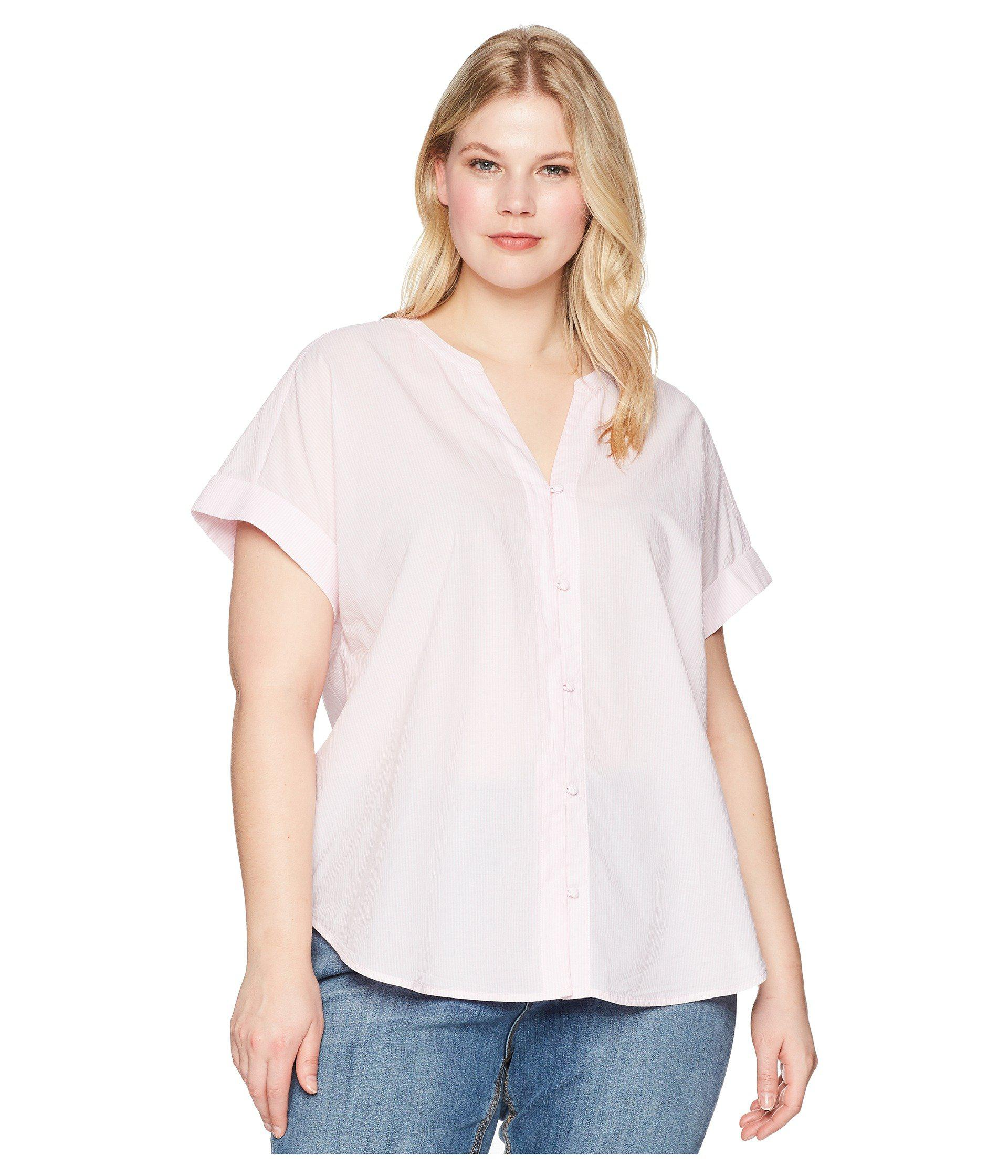 Plus Size White Dress With Short Sleeves – DACC