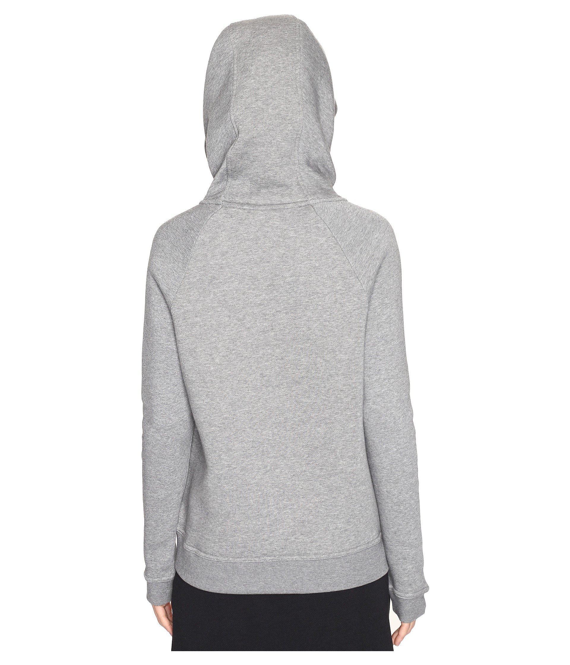 1857baaed5f4 Lyst - Nike Sportswear Rally Funnel Neck Sweatshirt in Gray