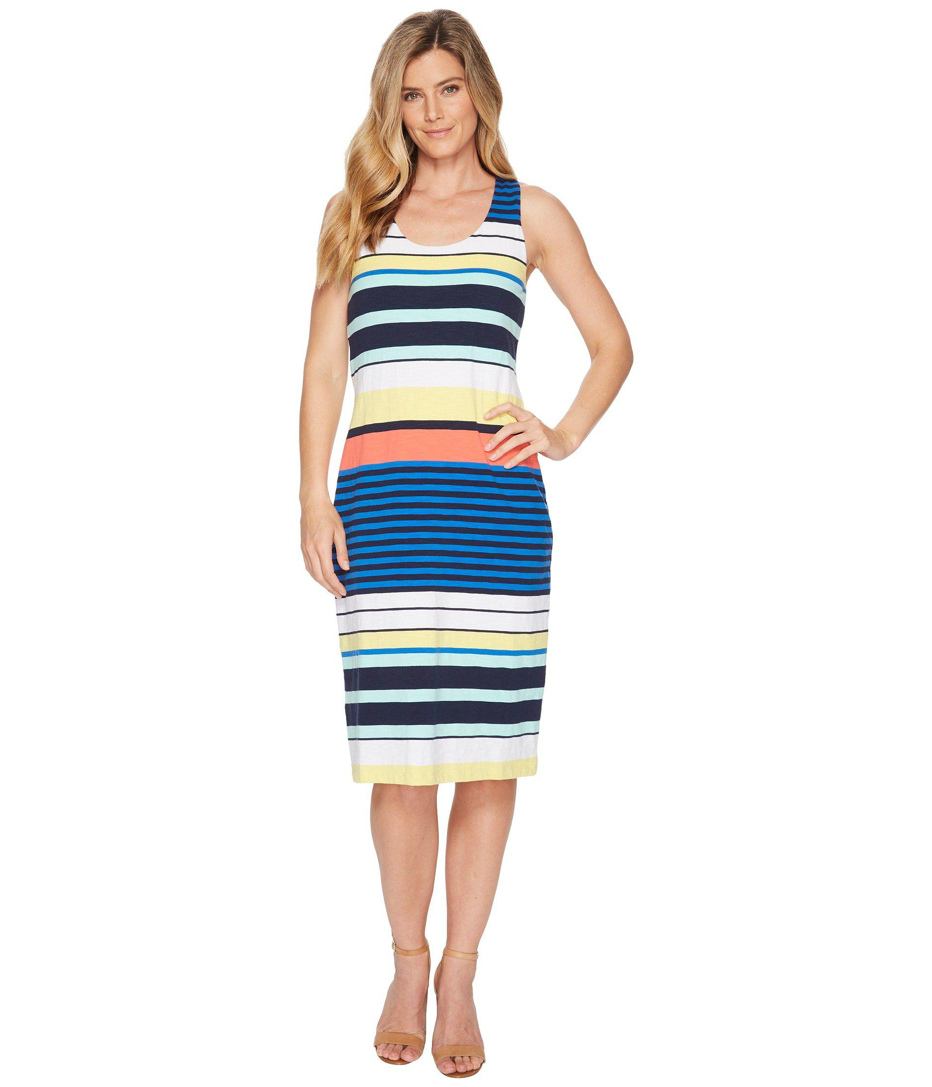 7170987e58 Lyst - Tommy Bahama Harbour Sea Maxi Tank Dress in Blue - Save 25%