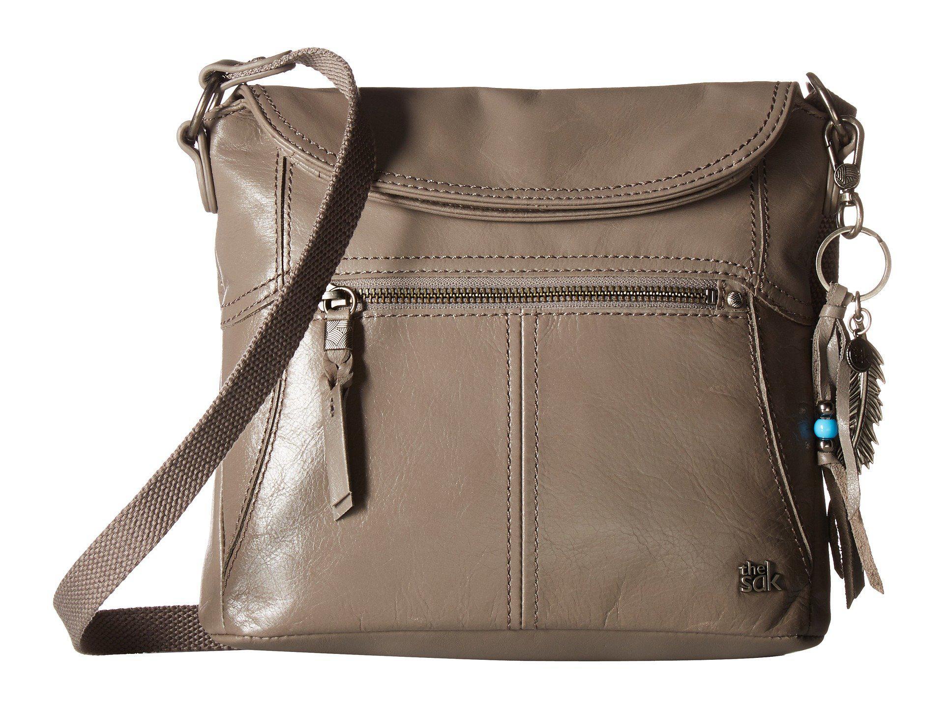 The Sak Esperato Nylon Hobo (Grey) Hobo Handbags jCL03VuEt