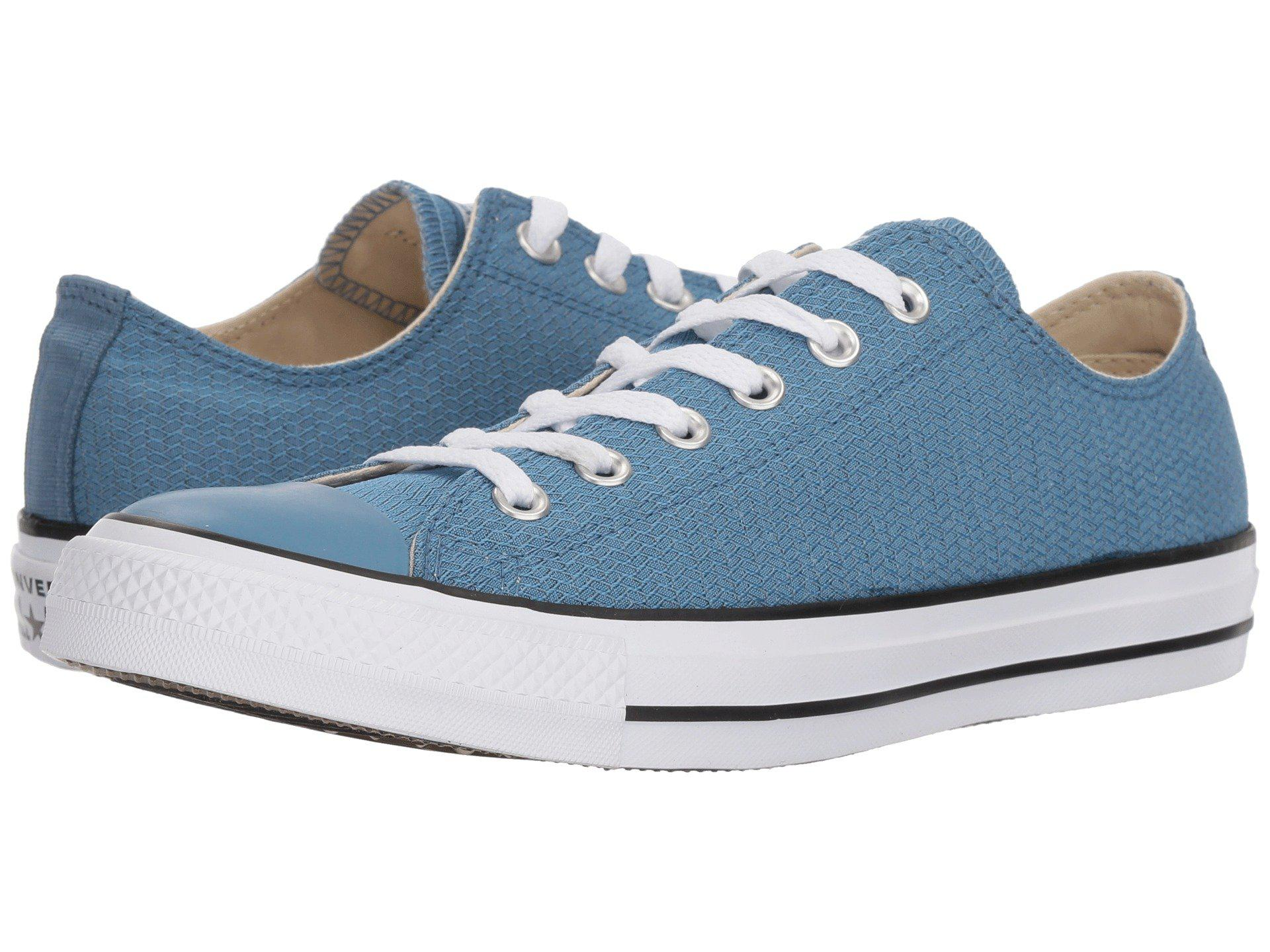 6e473bc2461f Lyst - Converse Chuck Taylor® All Star® Ox - Court Ripstop in Blue