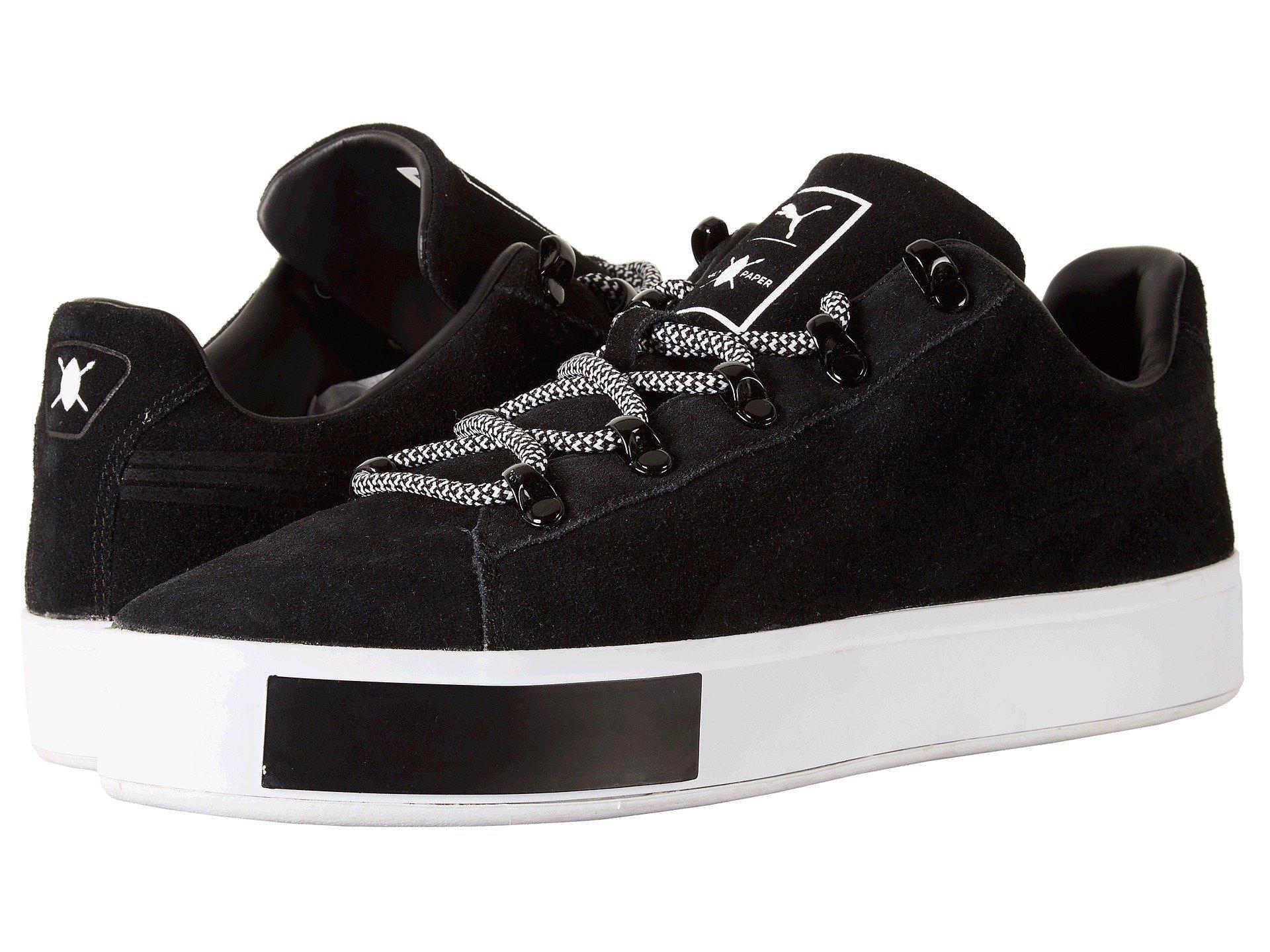 e6842a245444 Lyst - PUMA X Dp Court Platform S in Black for Men