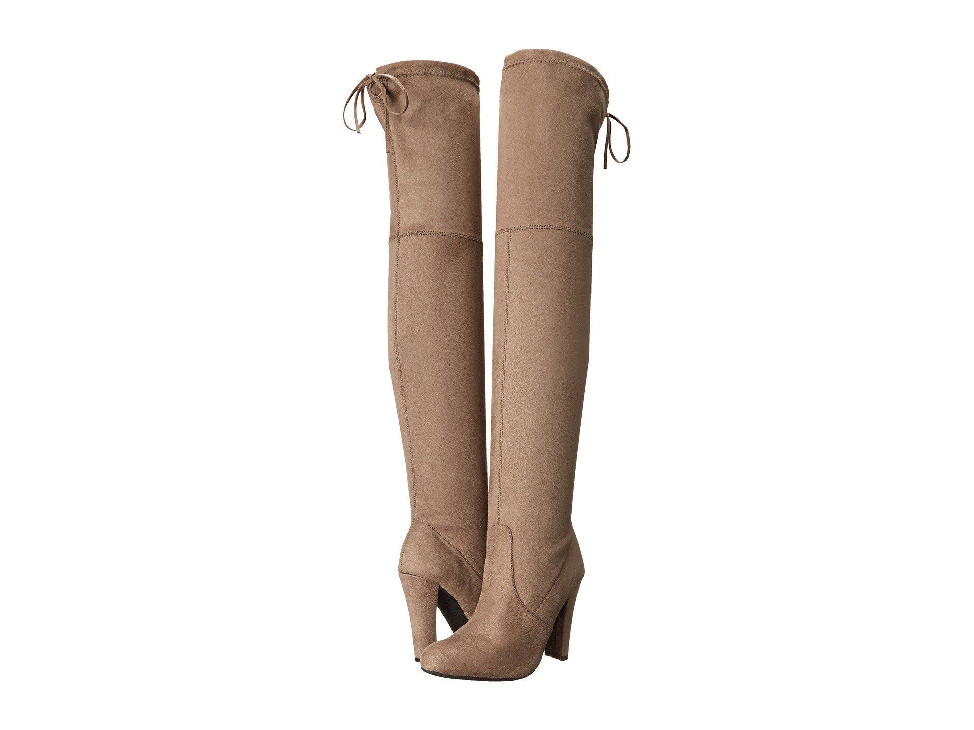 486732de192 Lyst - Steve Madden Gorgeous Knee Boot in Brown