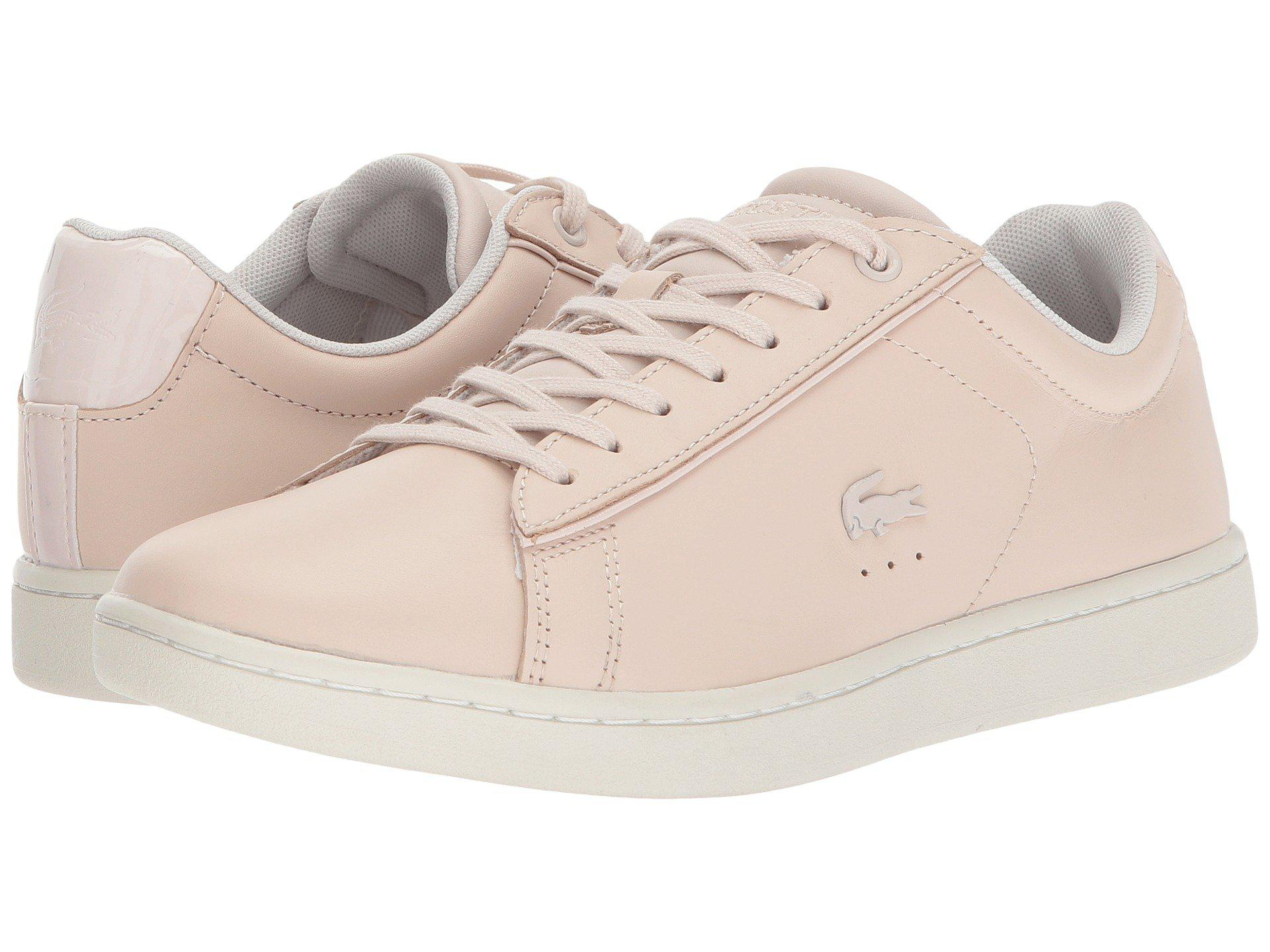 98fdd1cea340a Lyst - Lacoste Carnaby Evo 417 1 in Pink