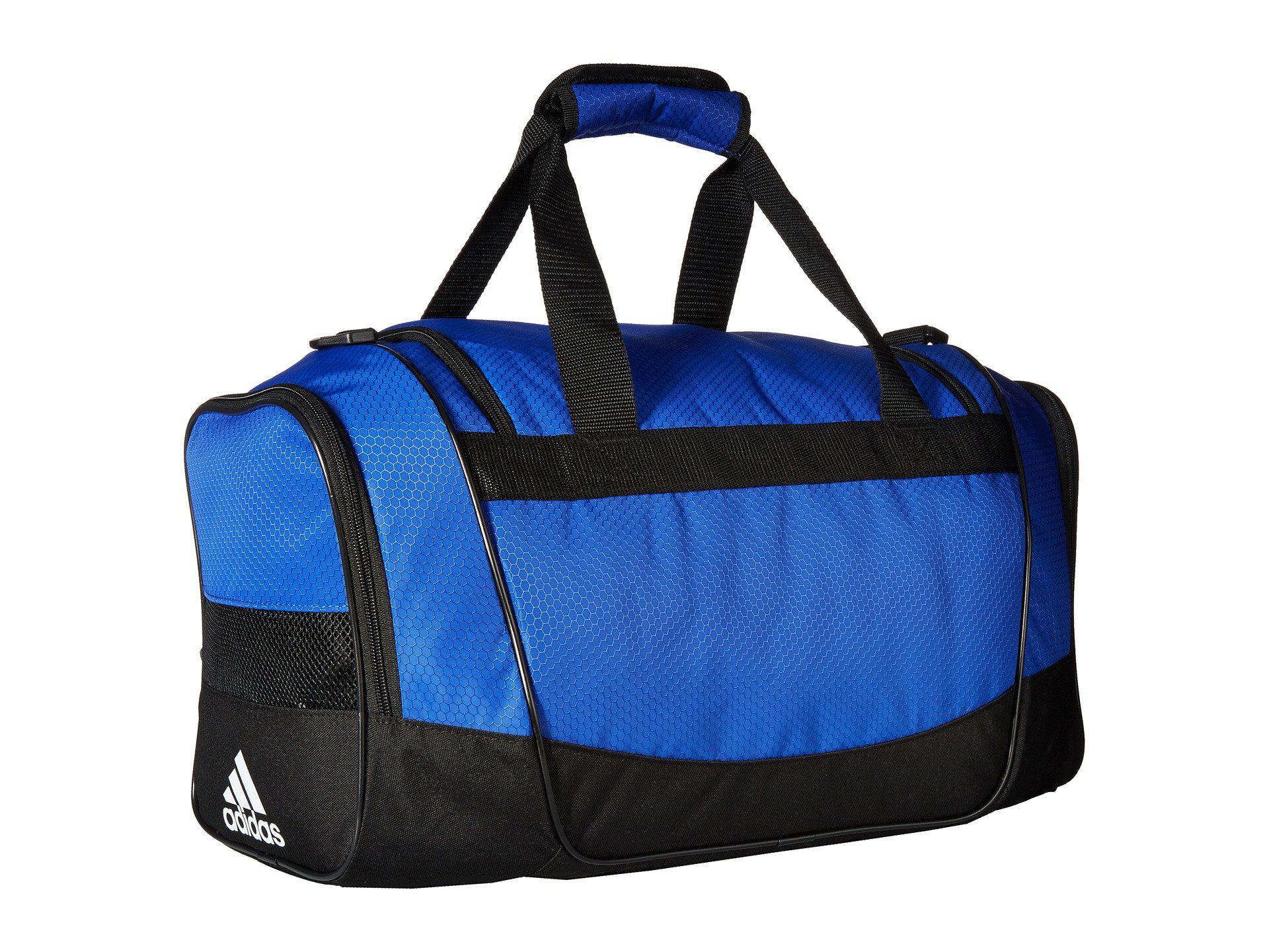 52b61a812e Adidas - Blue Defender Iii Medium Duffel - Lyst. View fullscreen