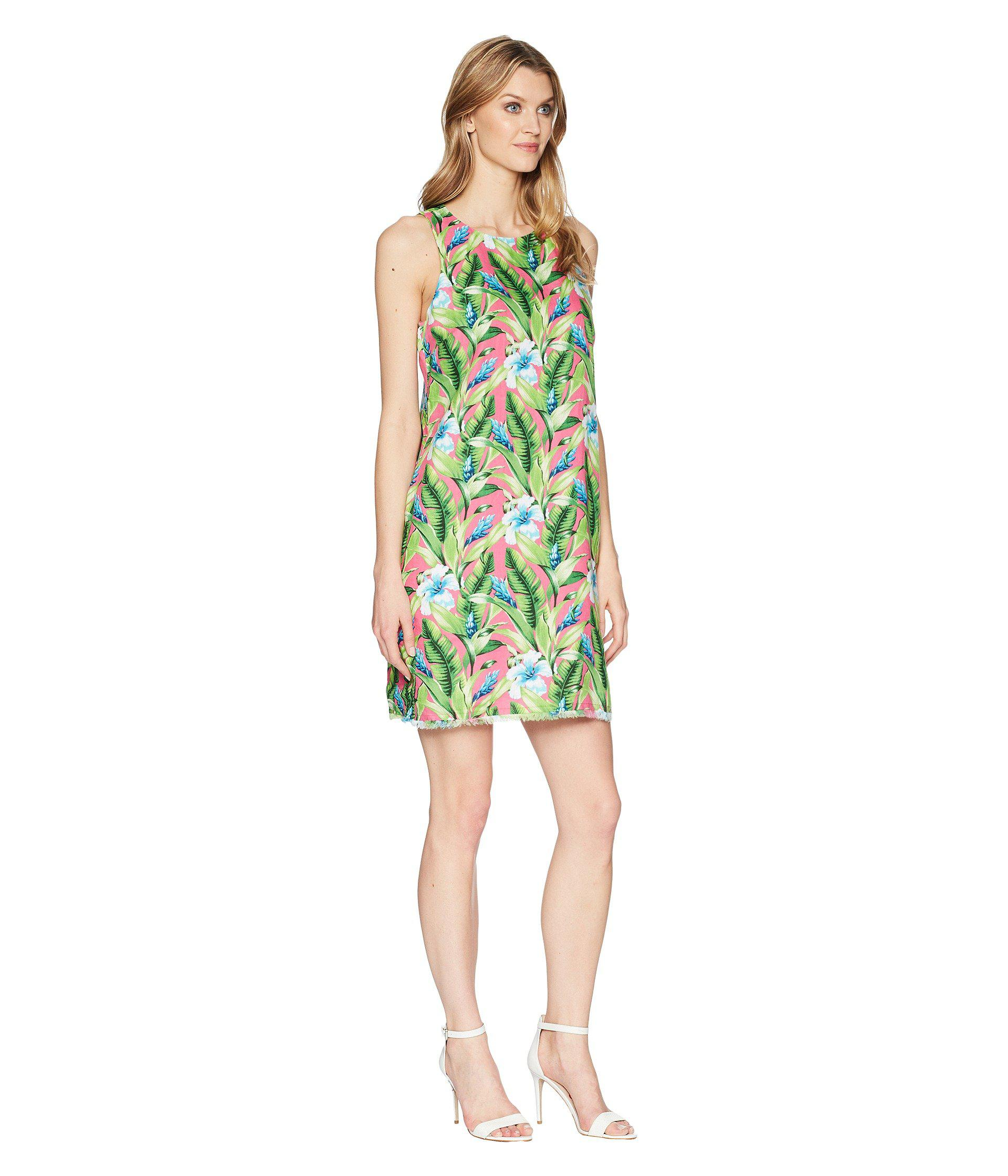 a0efd36bd51f Tommy Bahama Tulum Blooms Shift Dress in Green - Lyst