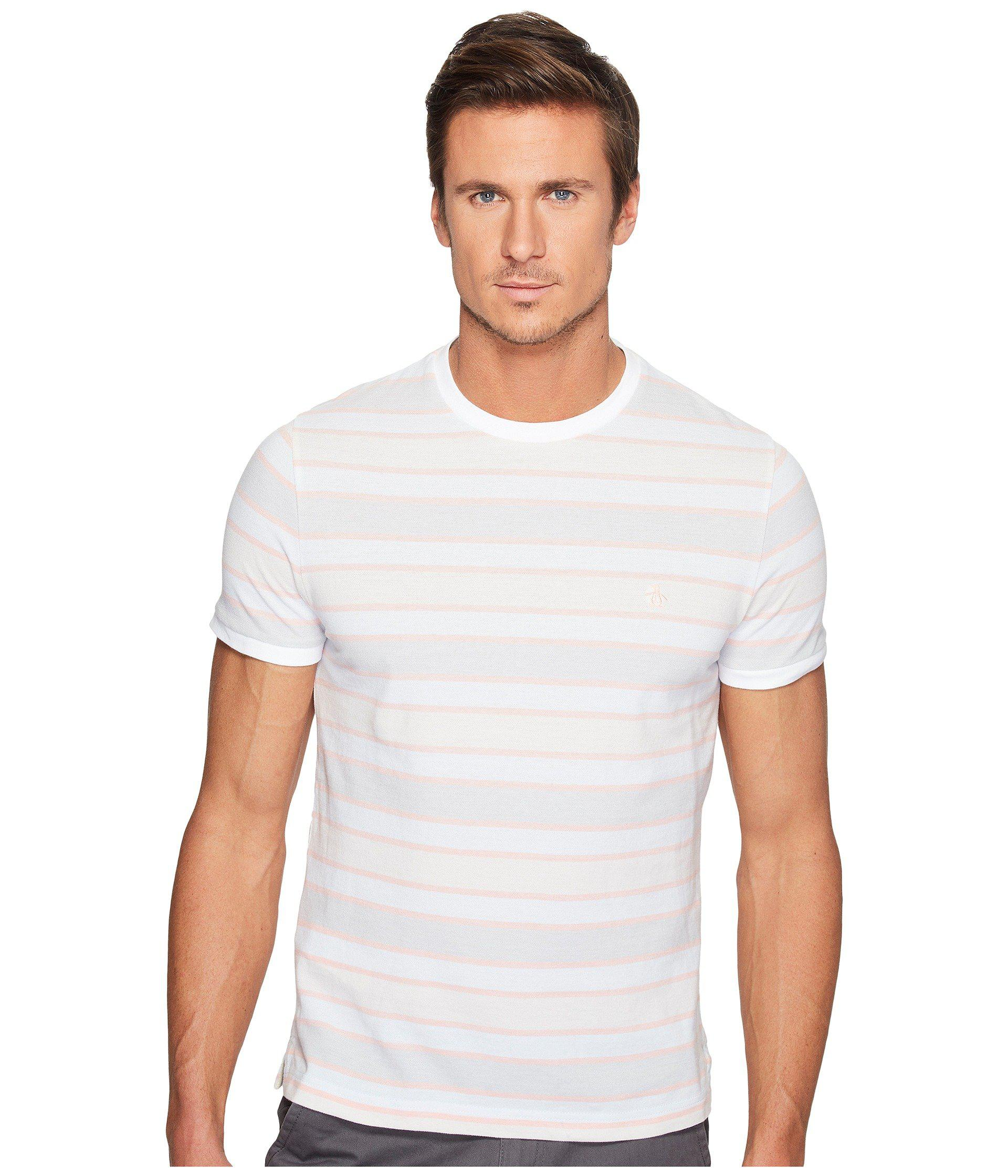 Sale Inexpensive Buy Cheap Really Mens Birdseye Short Sleeve T - Shirt Original Penguin Free Shipping Pay With Visa Reliable Cheap Online Cheap Prices Reliable 6TkTYh8YoM