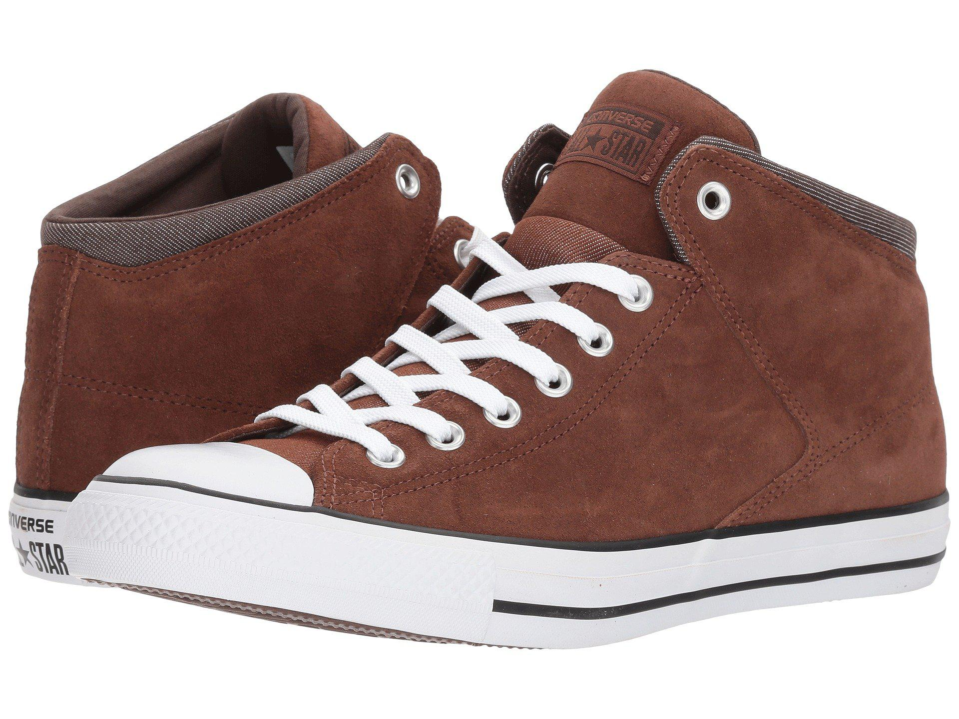 Converse. Men s Brown Chuck Taylor® All Star® High Street Thermal Suede Hi 5e22d1469