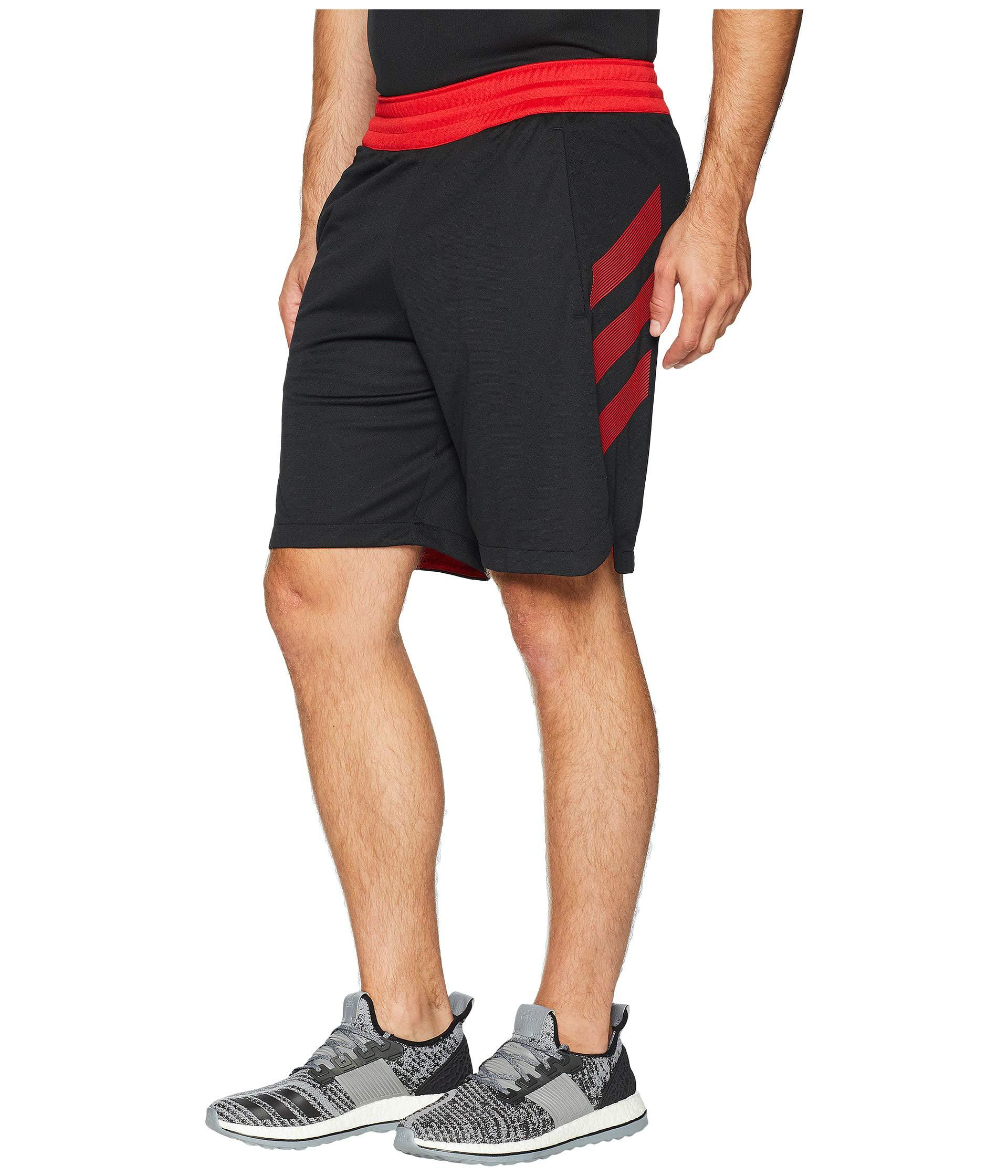 5604f4893739 Lyst - adidas Accelerate 3-stripes Shorts in Black for Men