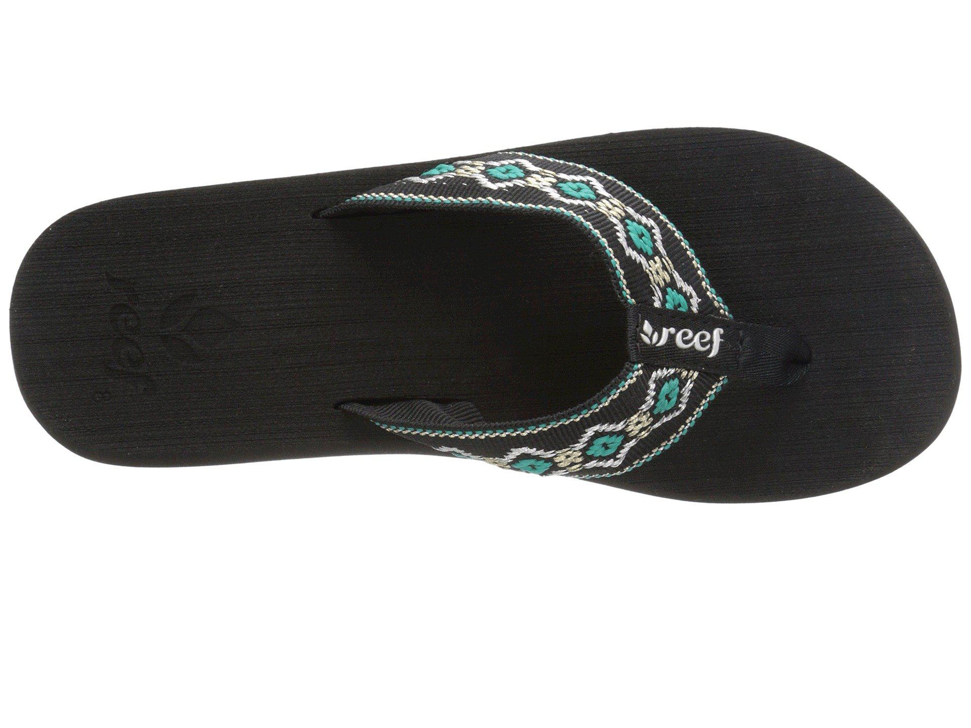 7f9462bf27be Lyst - Reef Sandy in Black - Save 19%