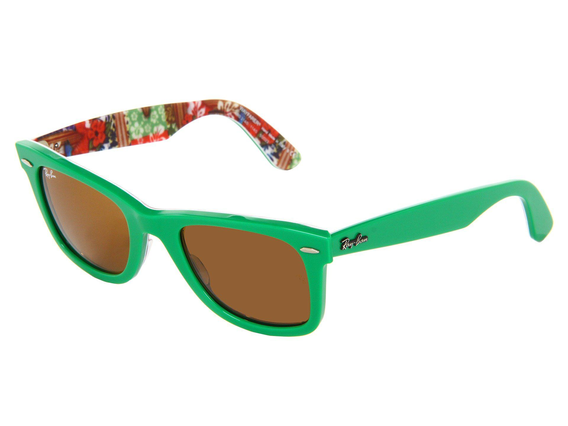 e91b7e59ffd Lyst - Ray-Ban Rb2140 Original Wayfarer Surf Up 50mm in Green