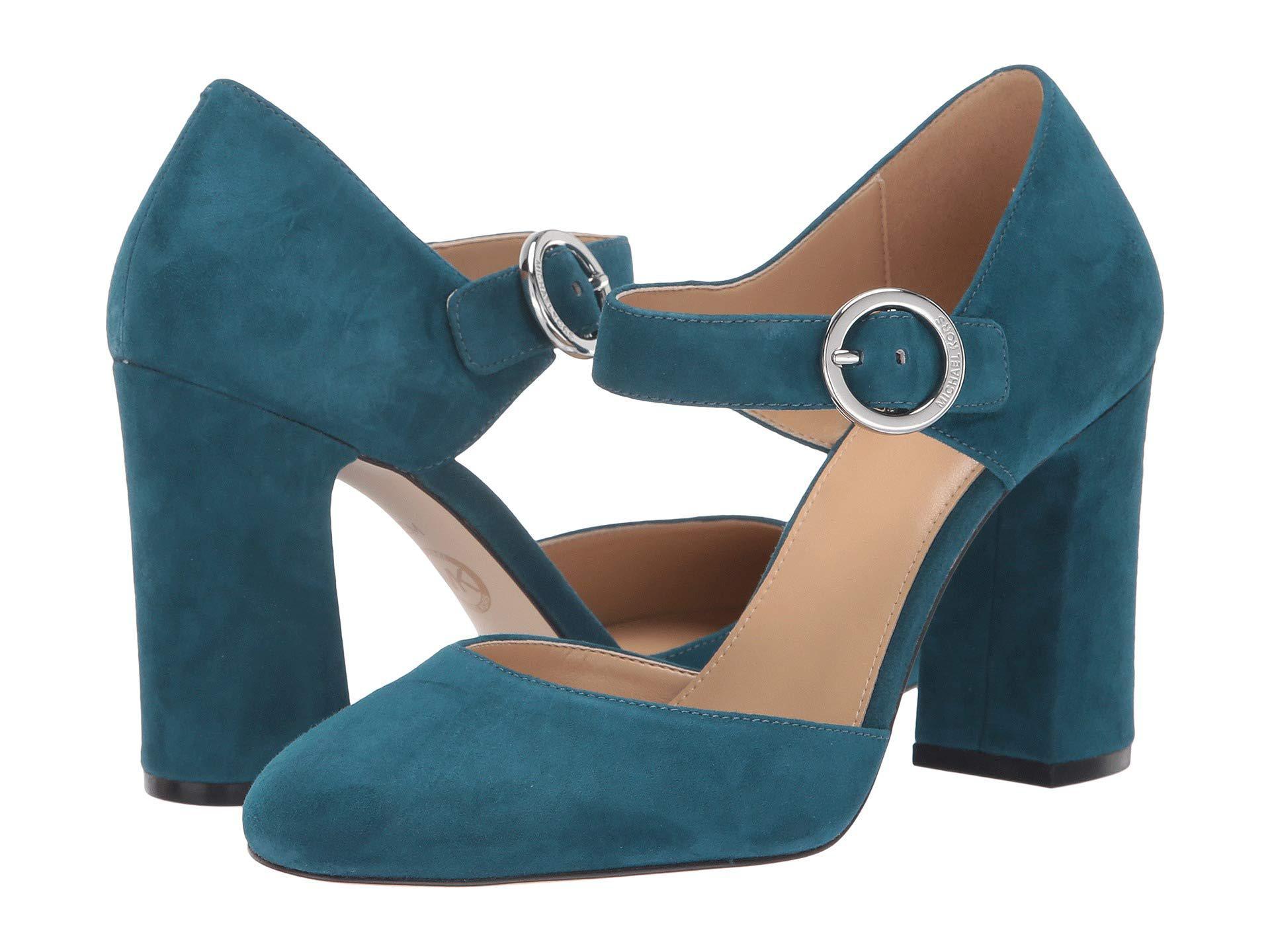 65bae4434e14 Lyst - MICHAEL Michael Kors Alana Closed Toe in Blue