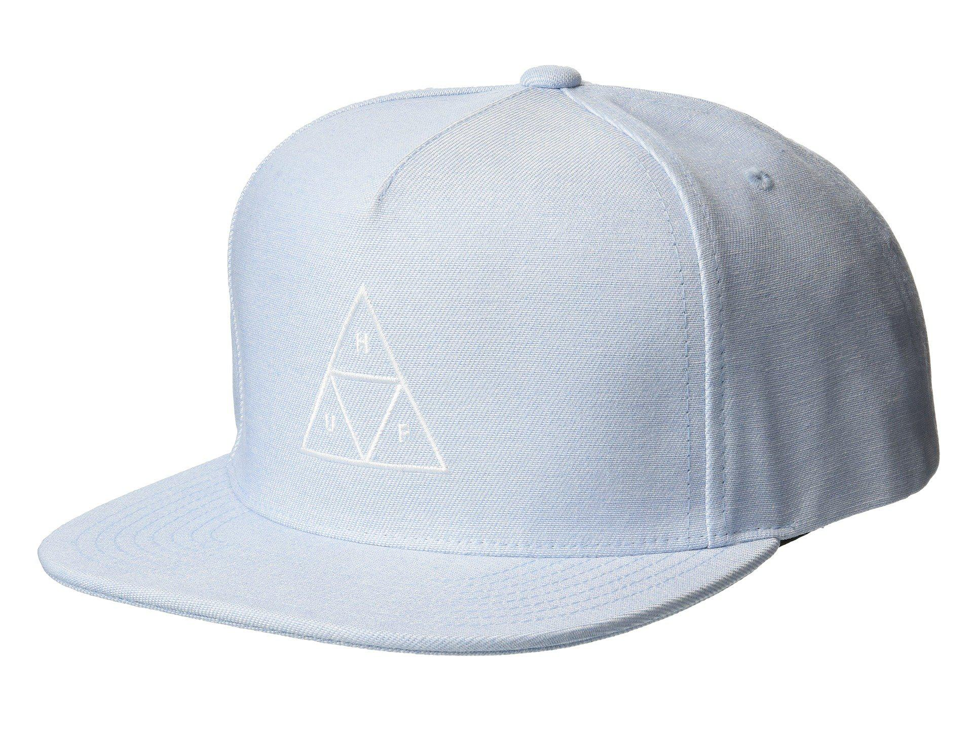 Lyst - Huf Triple Triangle Snapback in Blue for Men - Save 44% ba327d19e038