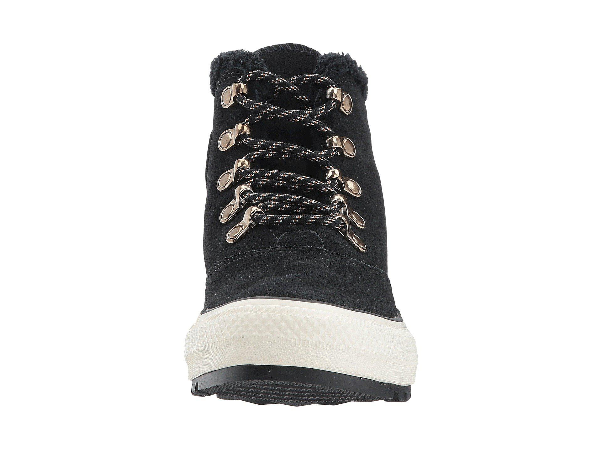 9c756446378acb Lyst - Converse Chuck Taylor® All Star® Ember Boot Suede   Faux Fur ...