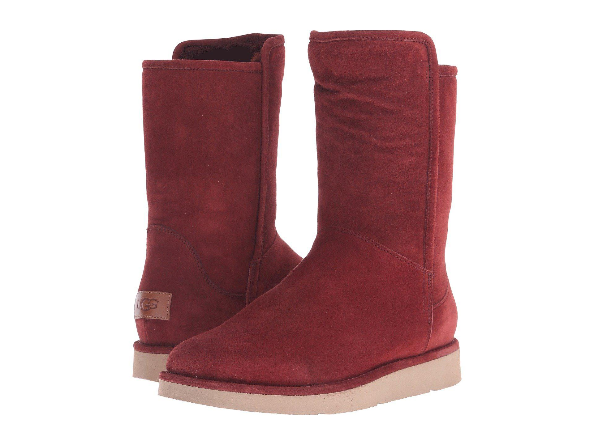 Womens Boots UGG Abree Short Rust