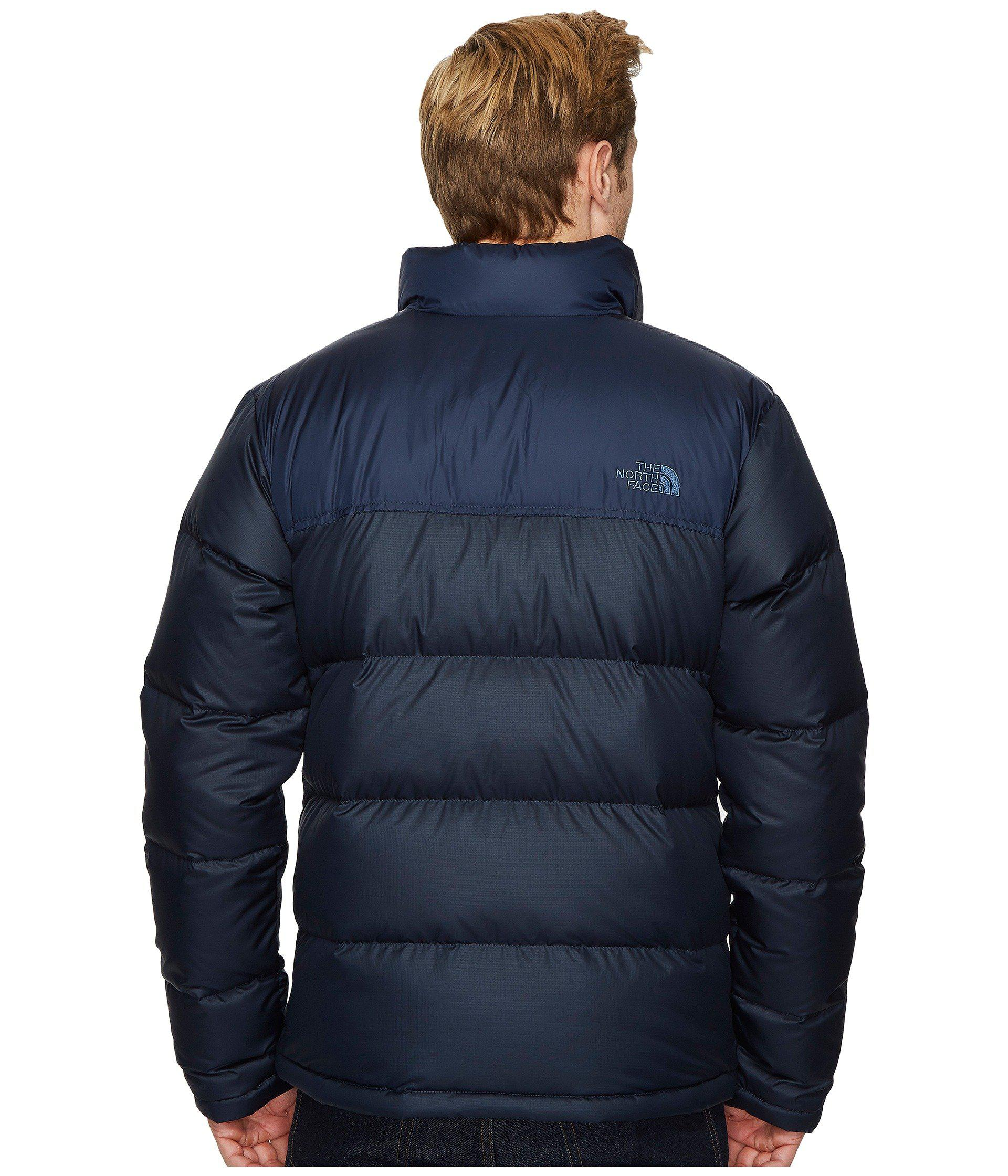 Lyst - The North Face Nuptse Jacket in Blue for Men 3d35bc87d