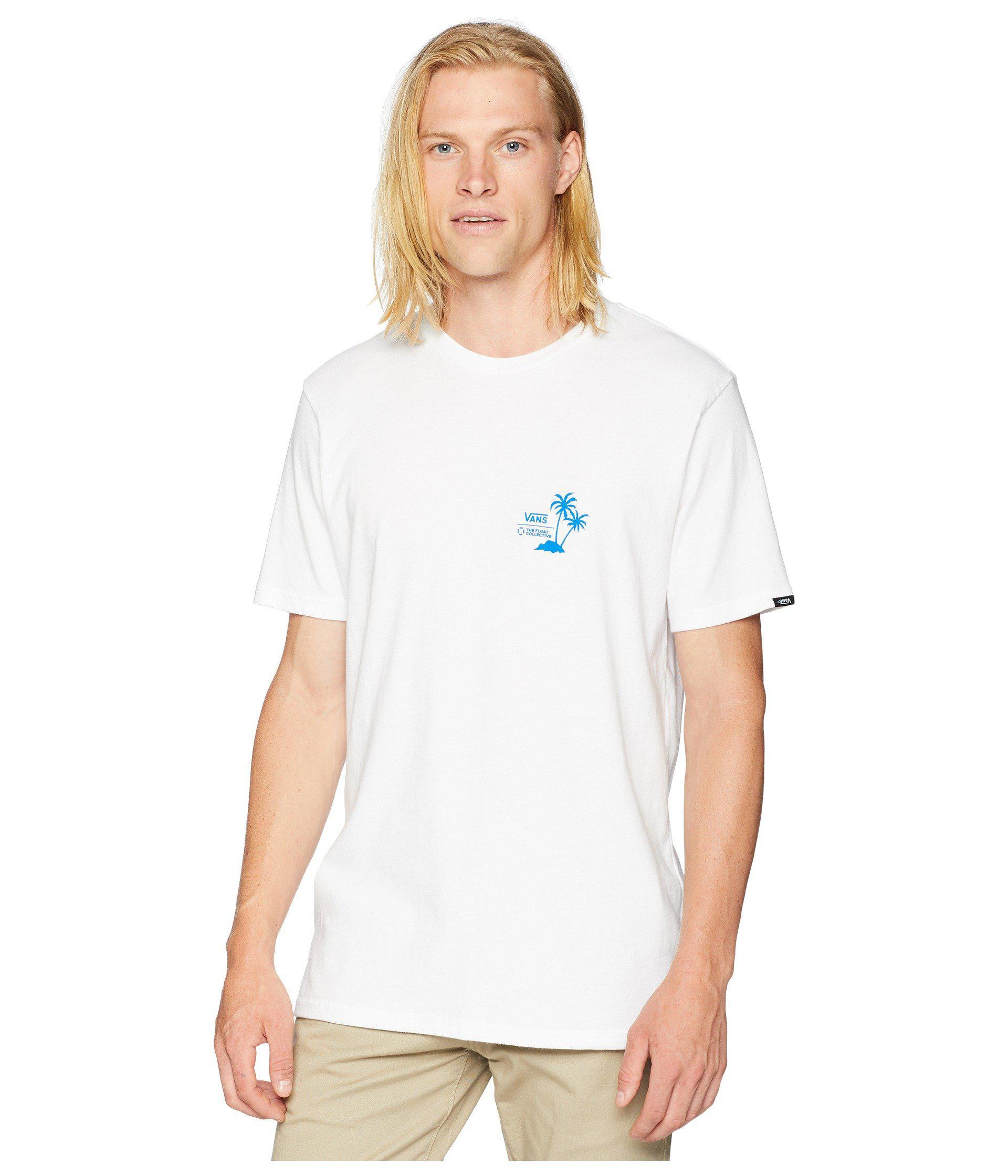 e5ed8759ef Vans - White X Float Collective T-shirt for Men - Lyst. View fullscreen