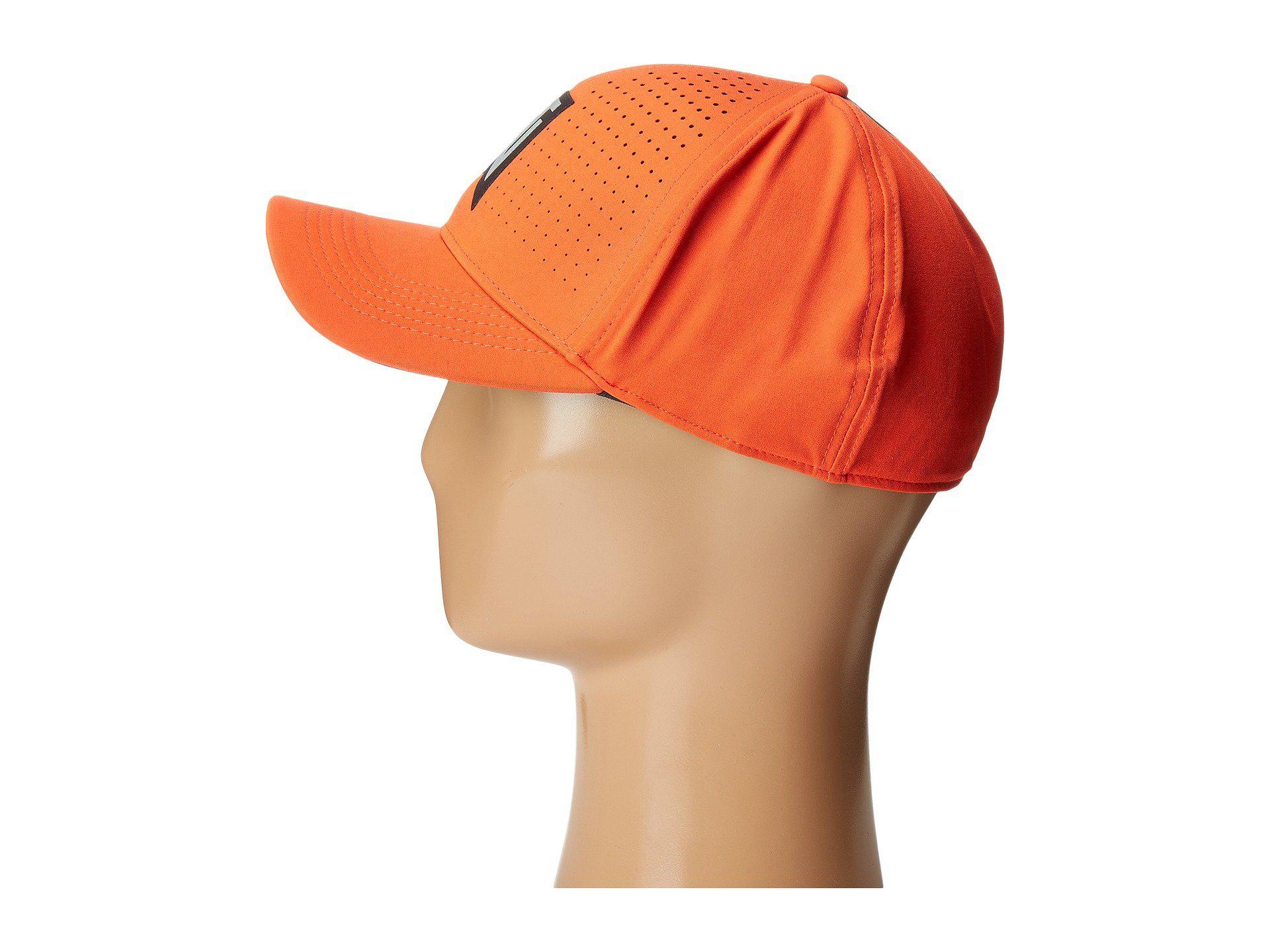 Lyst - Nike Tiger Woods Classic99 Statement Cap in Orange for Men 89c85f66baf