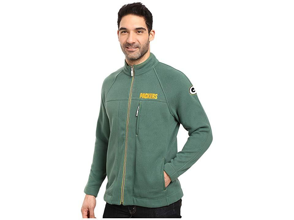 eb0891d00280c Tommy Bahama - Green Bay Packers Nfl Blindside Knit Jacket (packers  Viridian Pine) Jacket. View fullscreen