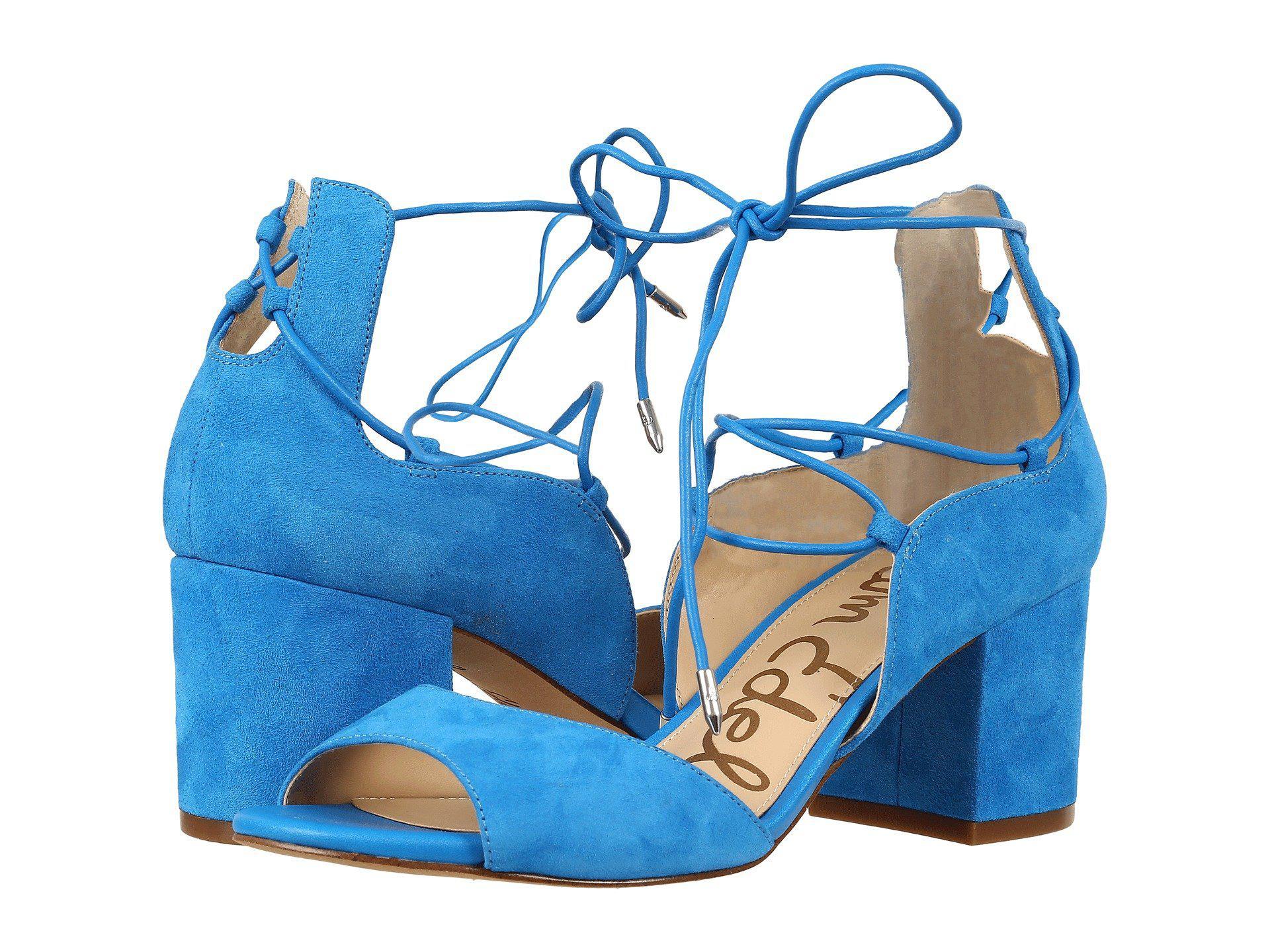 2851da7f2 Lyst - Sam Edelman Serene Dress Sandal in Blue - Save 33%