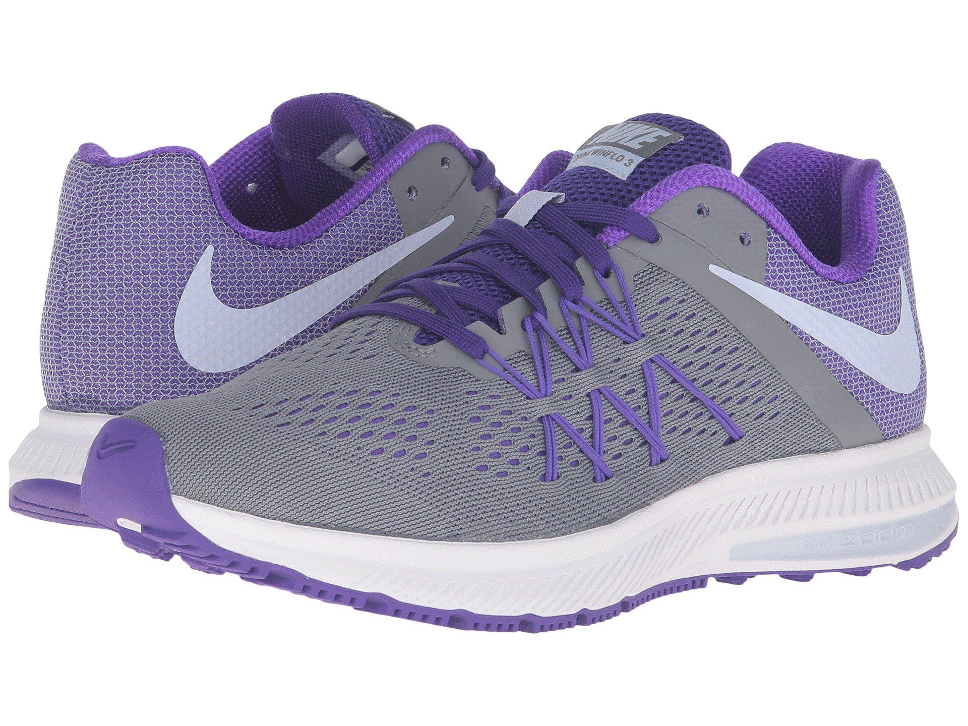 huge selection of d7300 301c4 Nike Zoom Winflo 3 in Purple - Lyst