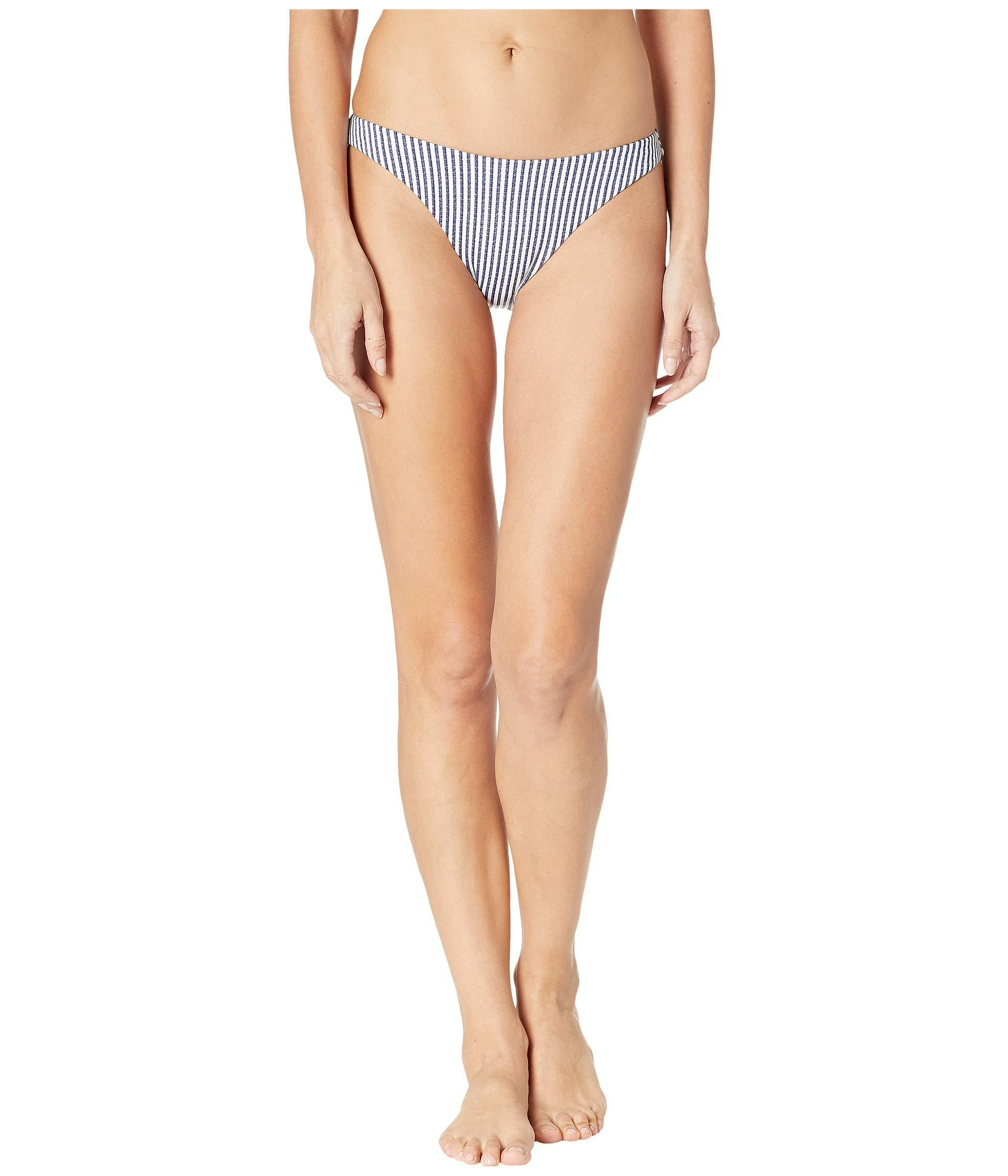 b9cc1ad179a Roxy. Women's Blue Printed Softly Love Reversible Full Swimsuit Bottoms