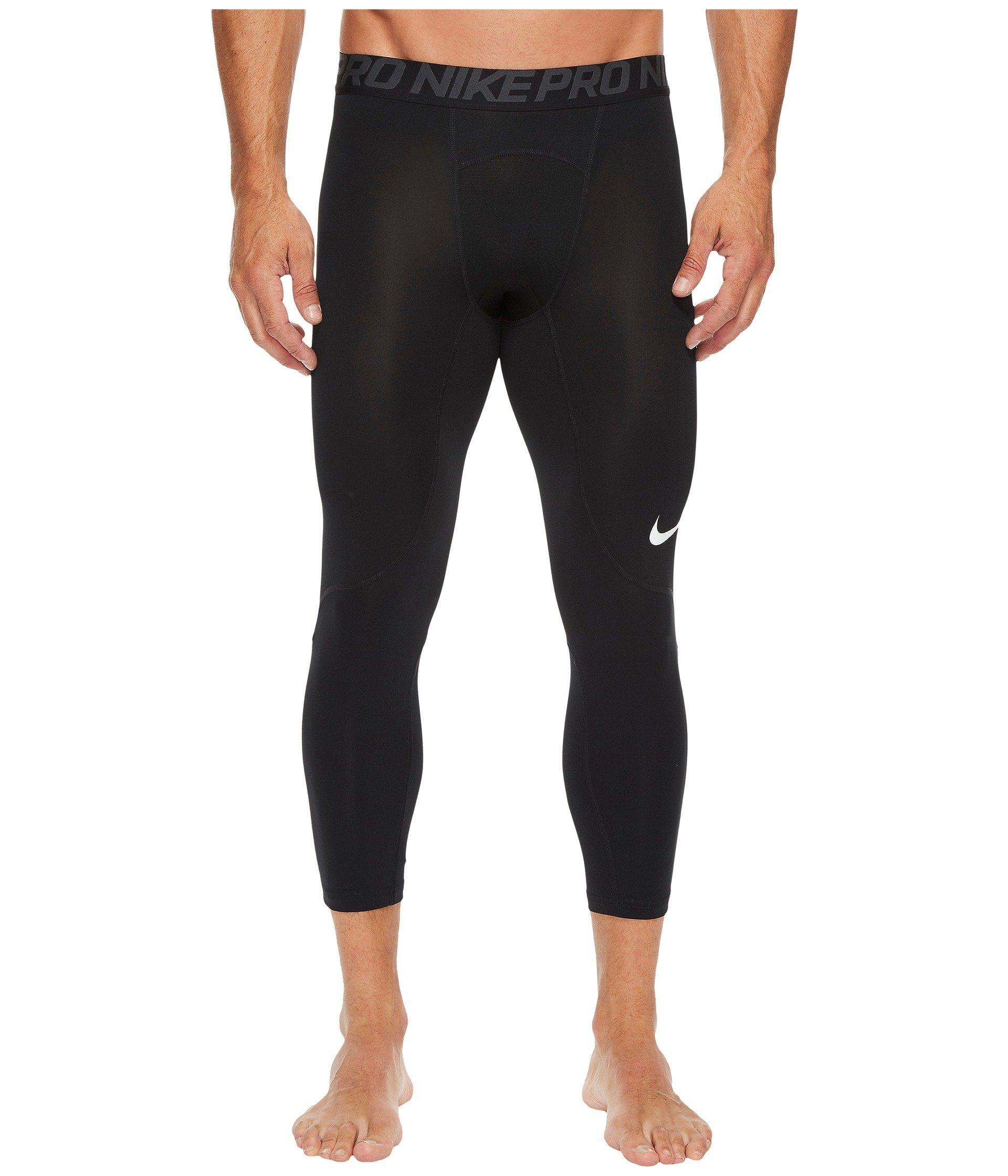 7f426561b91cd Lyst - Nike Pro 3/4 Tight in Black for Men